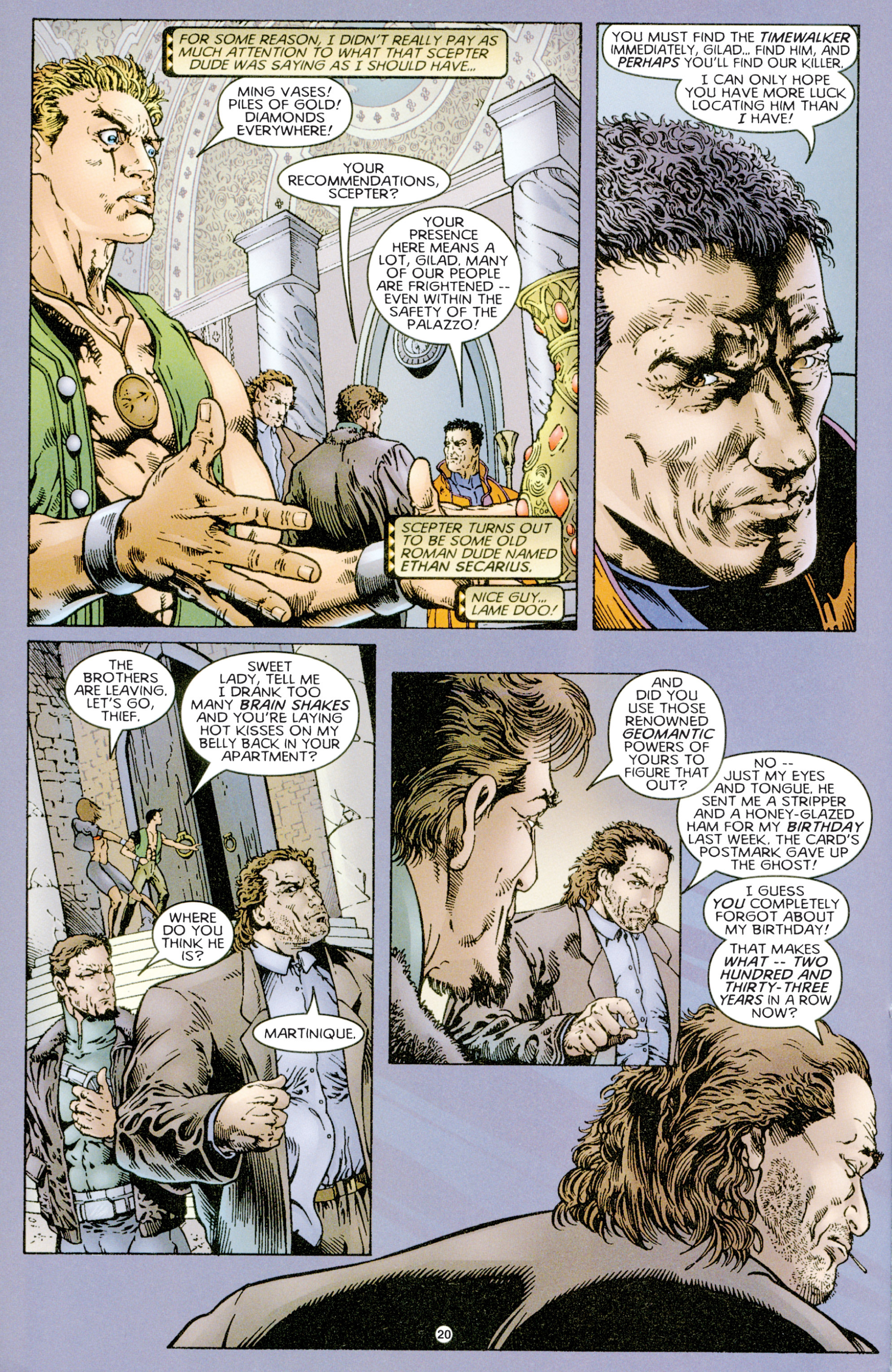 Read online Eternal Warriors comic -  Issue # Issue Time & Treachery - 19