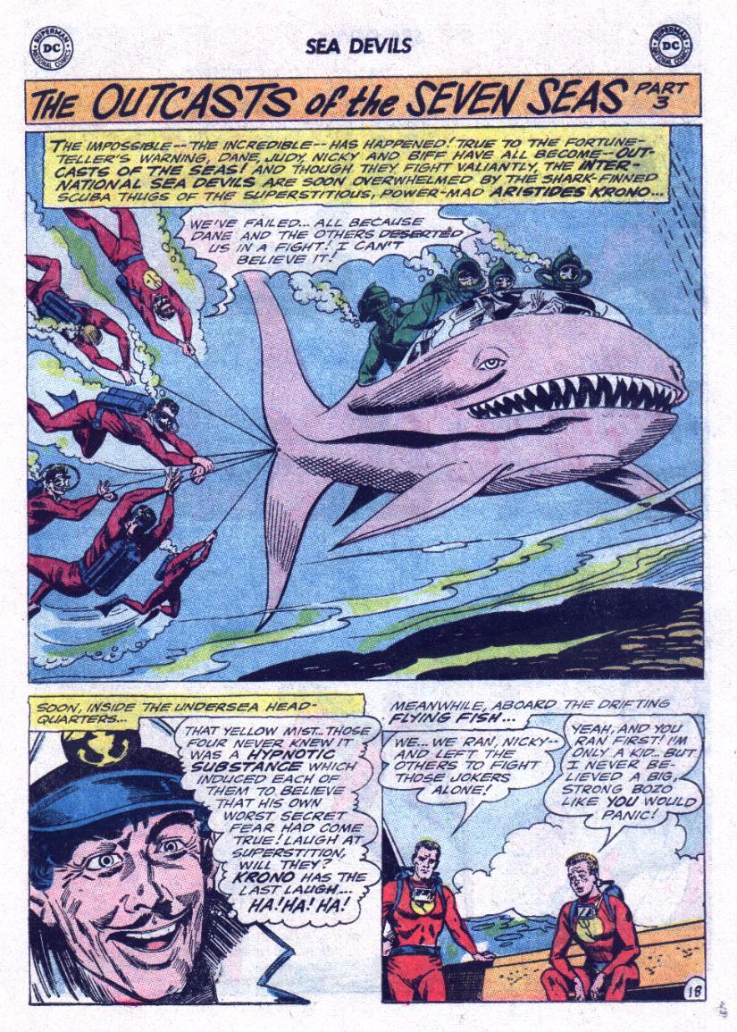 Read online Sea Devils comic -  Issue #23 - 23