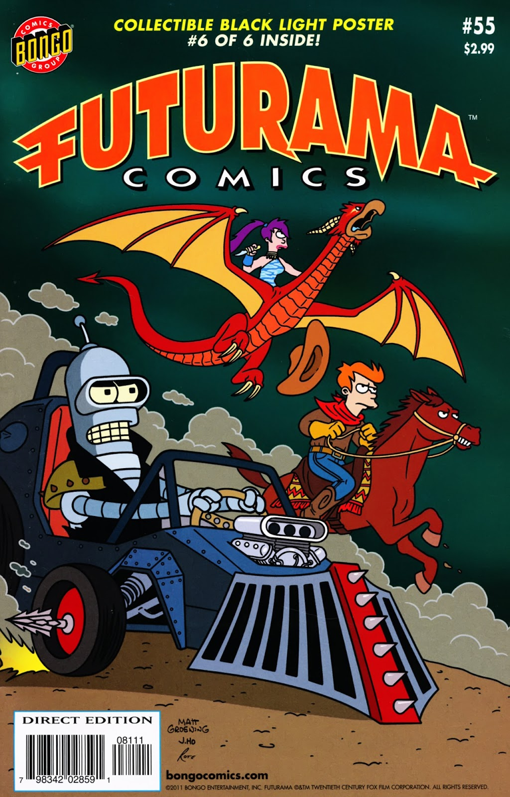 Futurama Comics issue 55 - Page 1