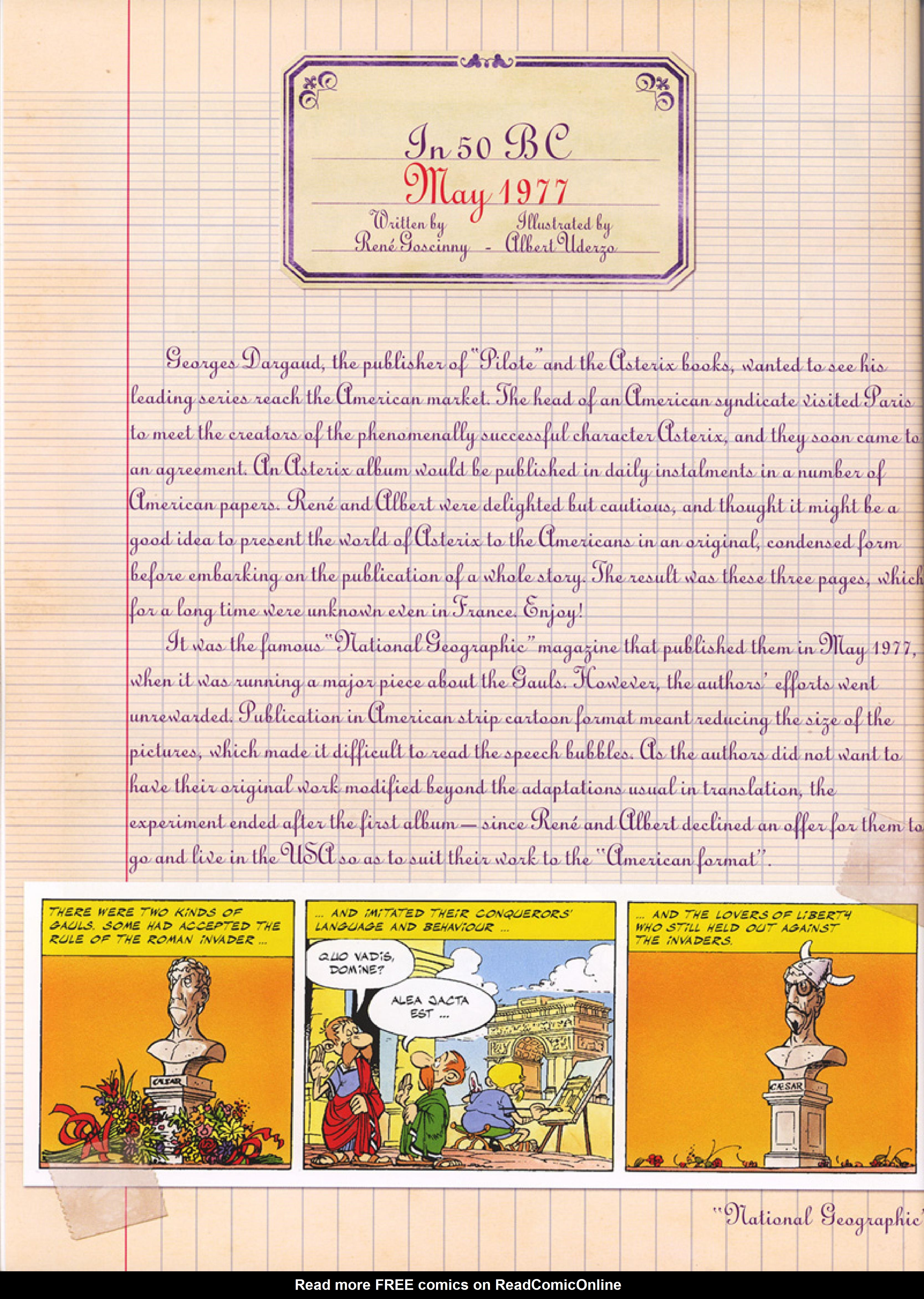 Read online Asterix comic -  Issue #32 - 15