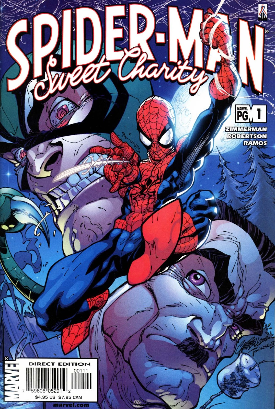 Spider-Man: Sweet Charity Full Page 1