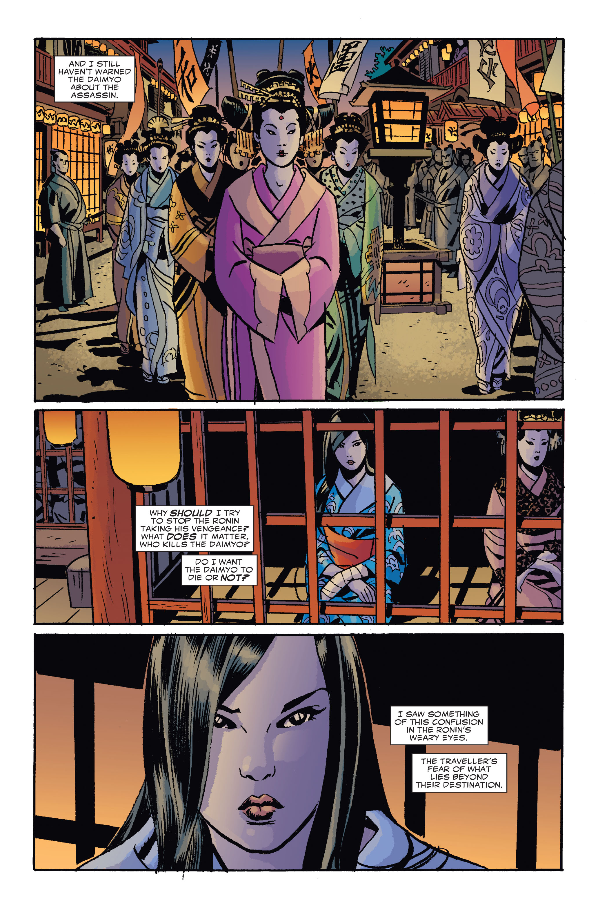 Read online 5 Ronin (2011) comic -  Issue #4 - 22