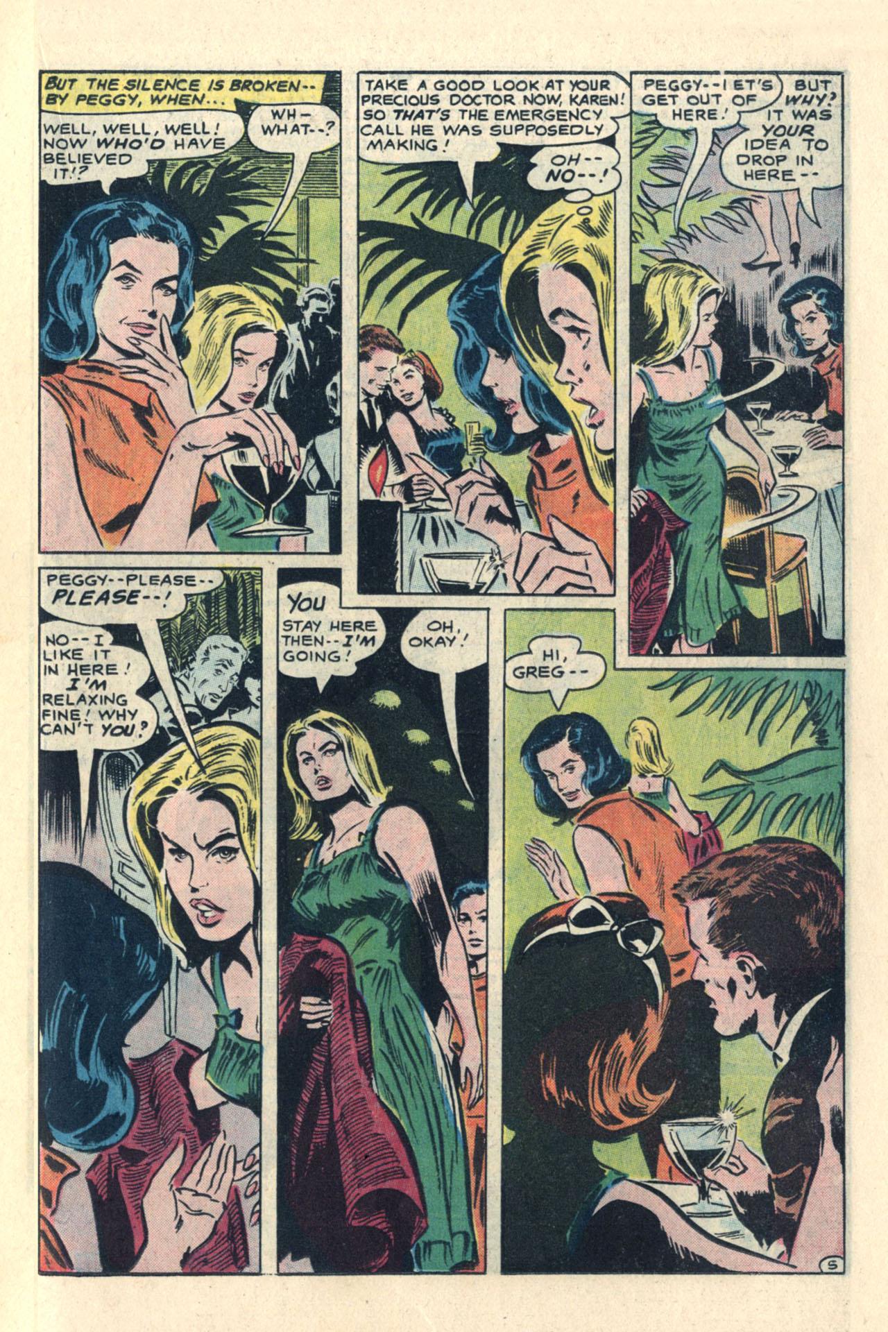 Read online Secret Hearts comic -  Issue #113 - 23
