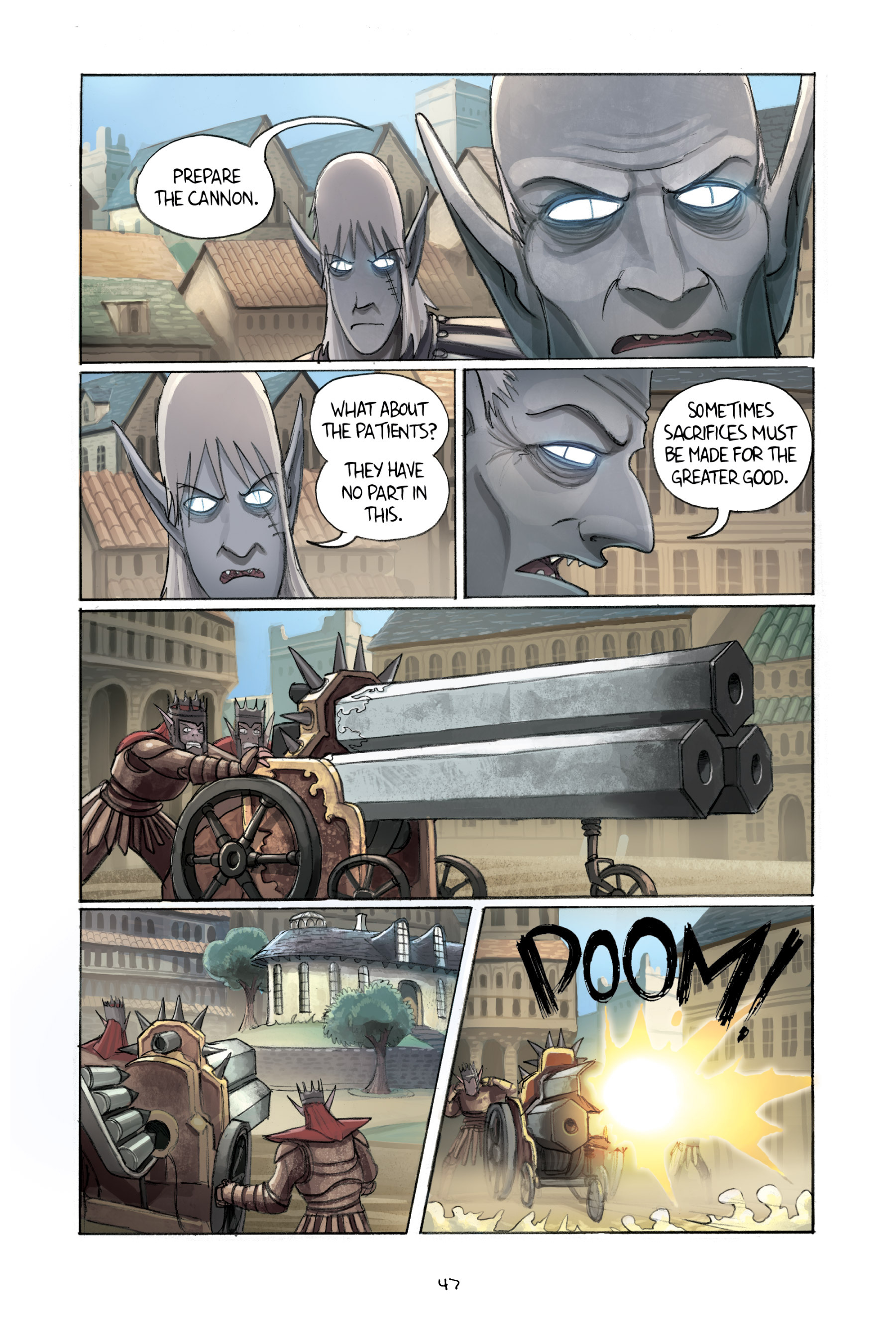 Read online Amulet comic -  Issue #2 - 49