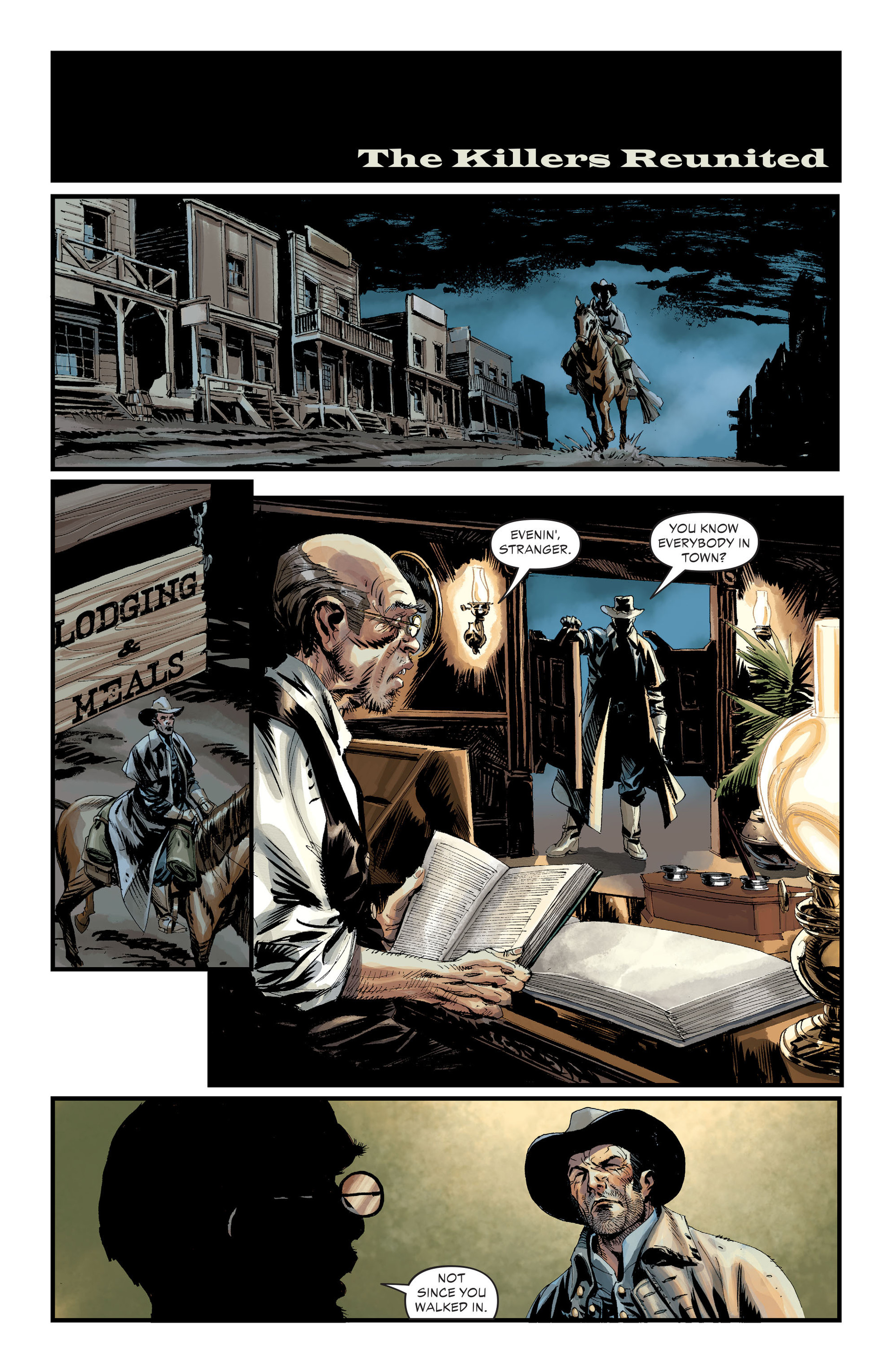 Read online All-Star Western (2011) comic -  Issue #30 - 4