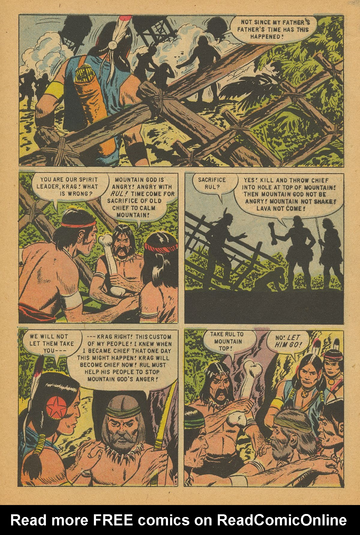 Read online Turok, Son of Stone comic -  Issue #14 - 7