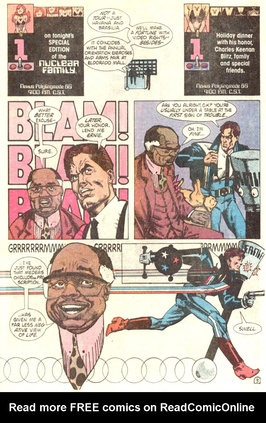 Read online American Flagg! comic -  Issue #4 - 4
