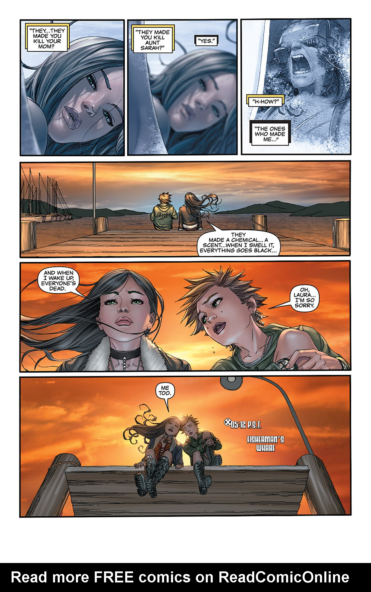 Read online X-23: Target X comic -  Issue #2 - 21