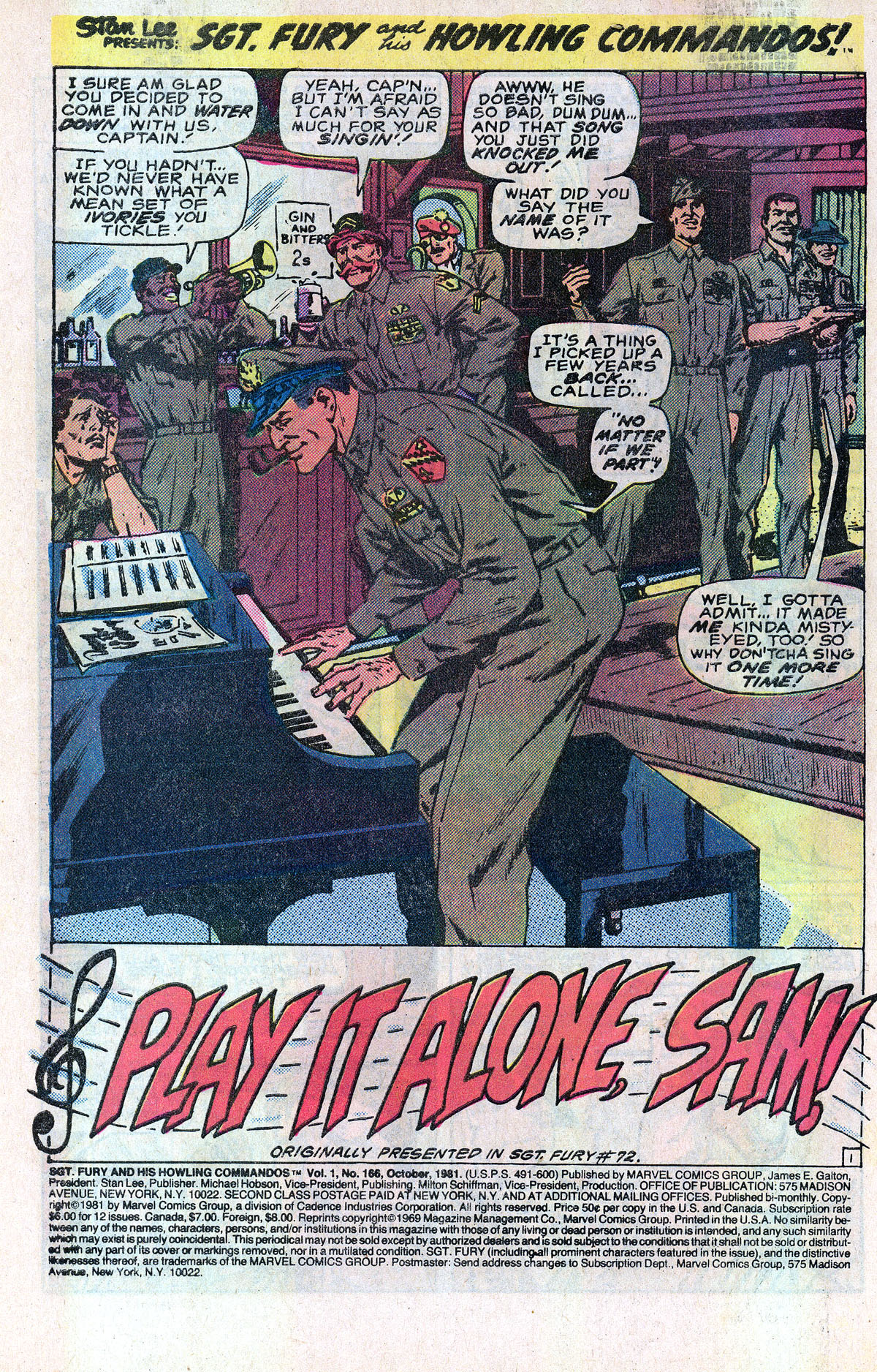 Read online Sgt. Fury comic -  Issue #166 - 3
