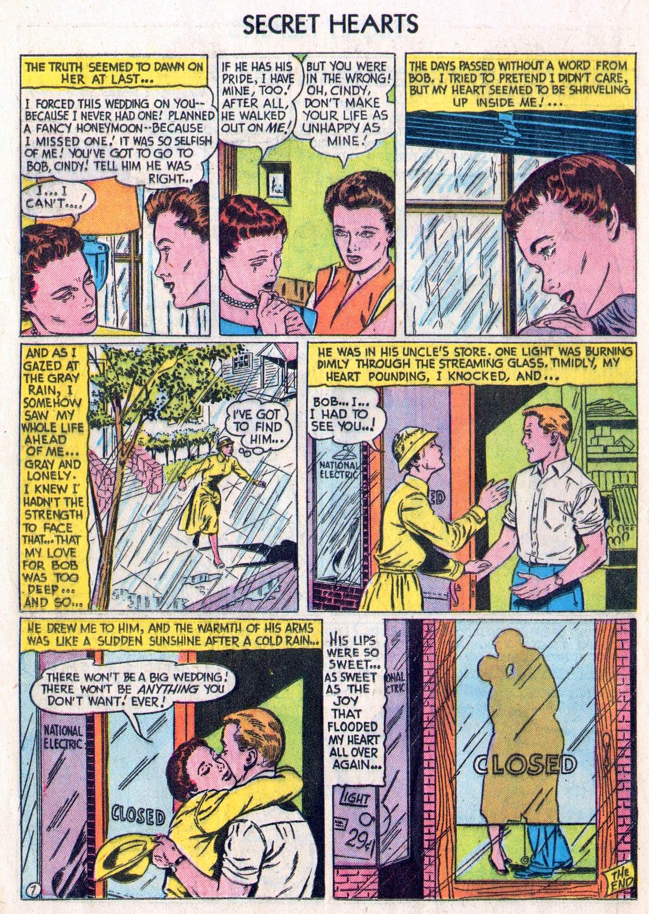 Read online Secret Hearts comic -  Issue #28 - 16