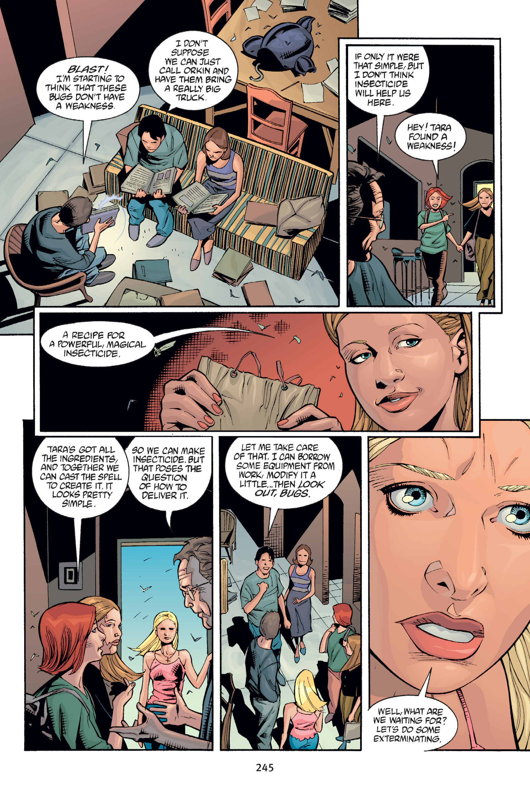Read online Buffy the Vampire Slayer: Omnibus comic -  Issue # TPB 6 - 244