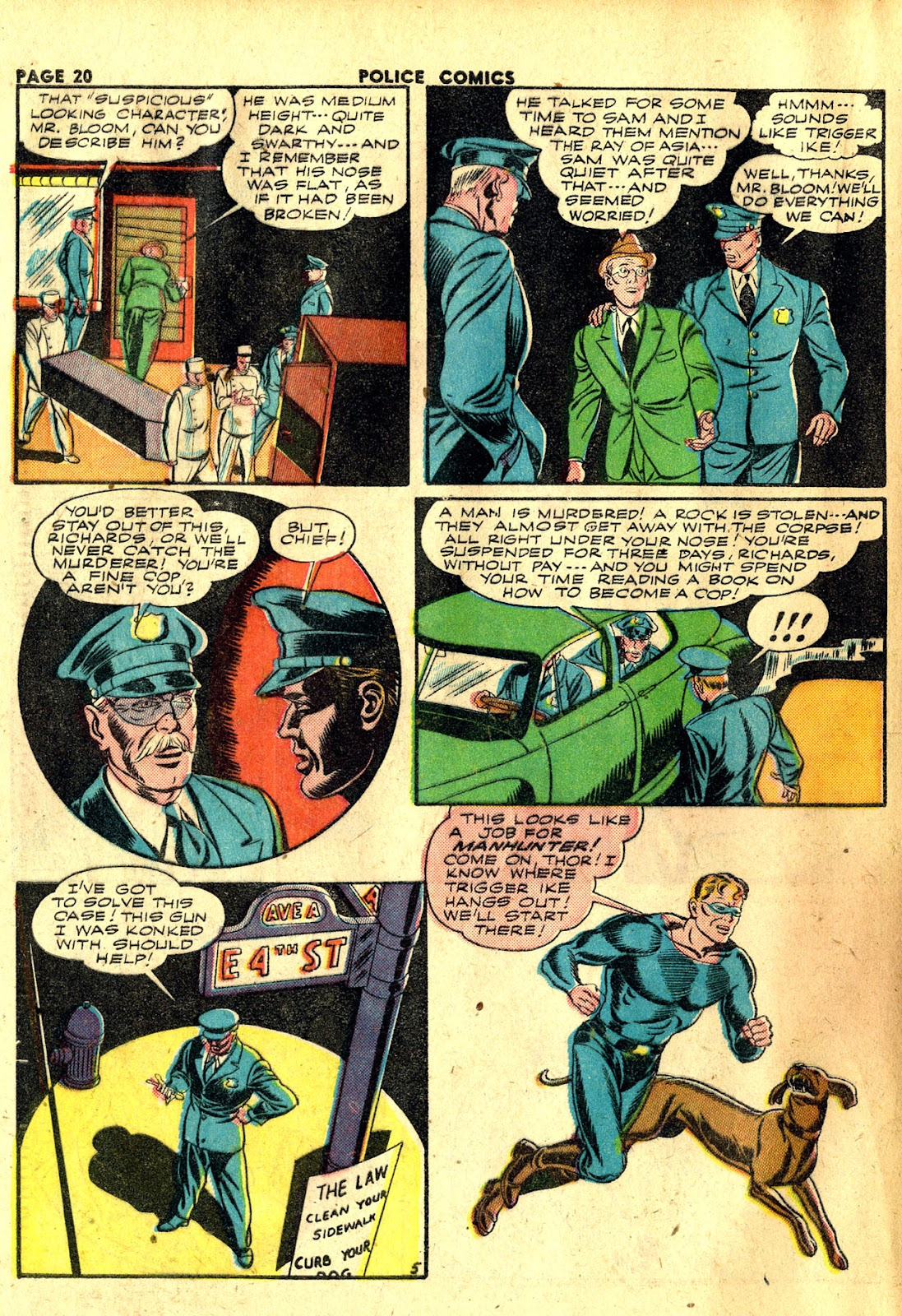 Police Comics issue 20 - Page 22