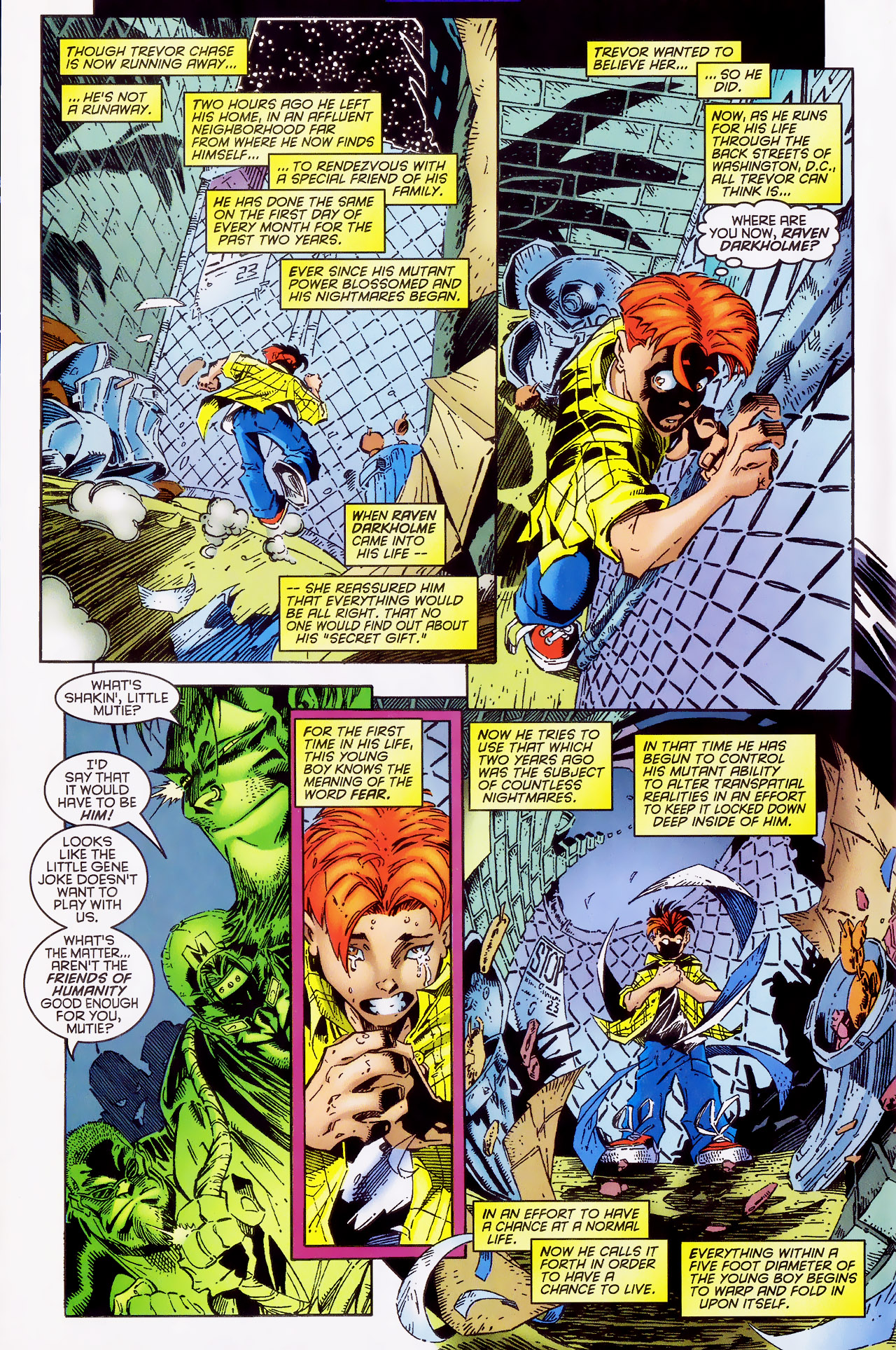 Read online X-Factor (1986) comic -  Issue #127 - 4