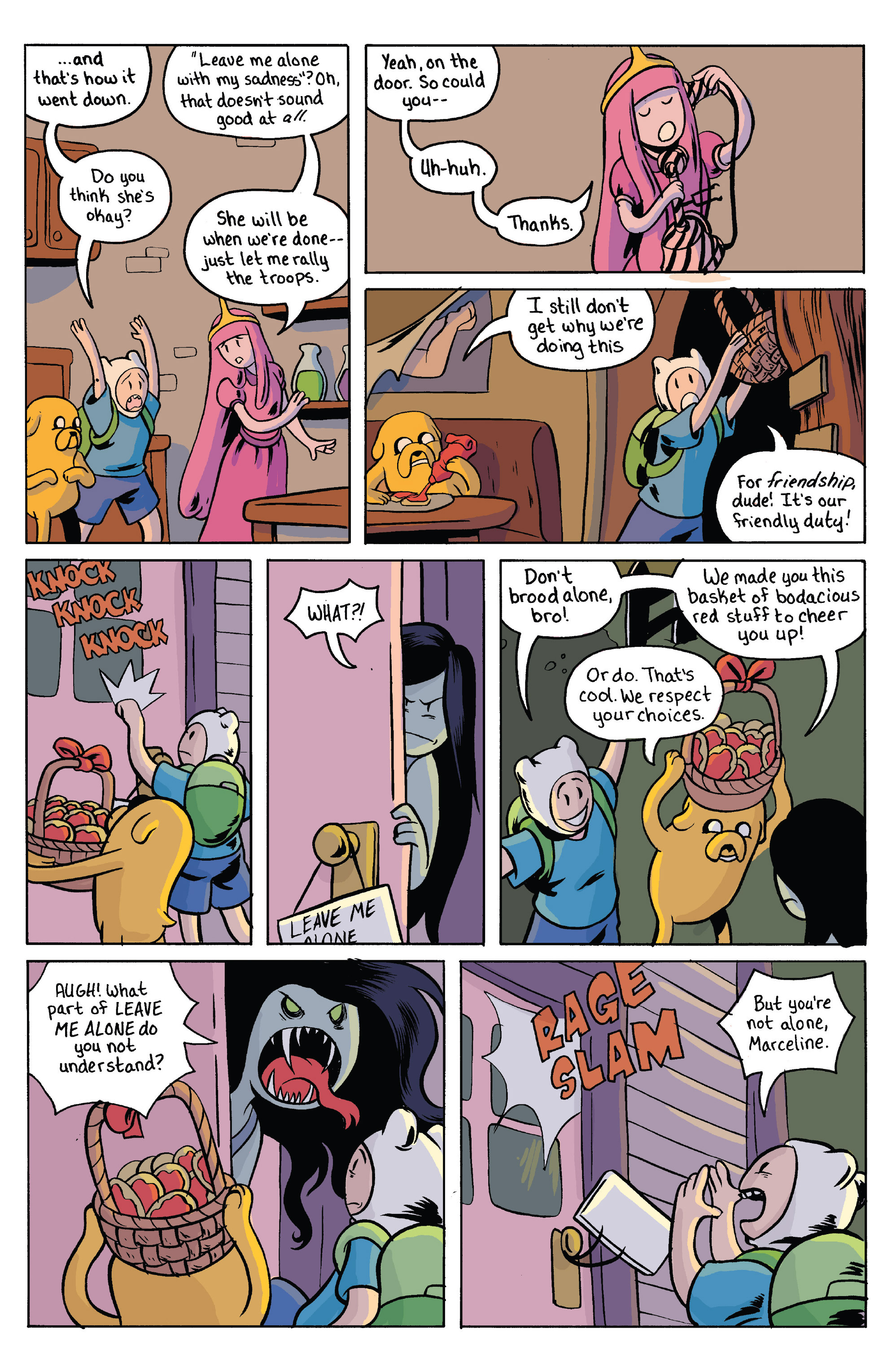 Read online Adventure Time comic -  Issue #38 - 20