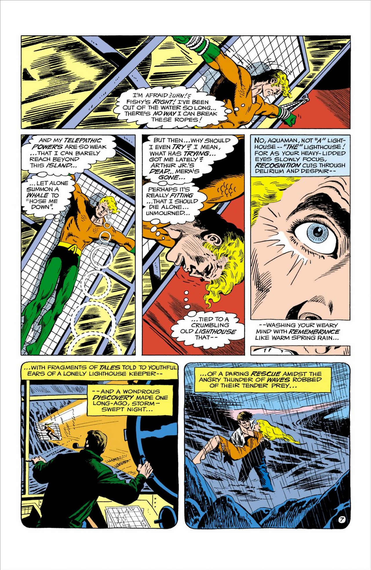 Read online Aquaman (1962) comic -  Issue #58 - 8