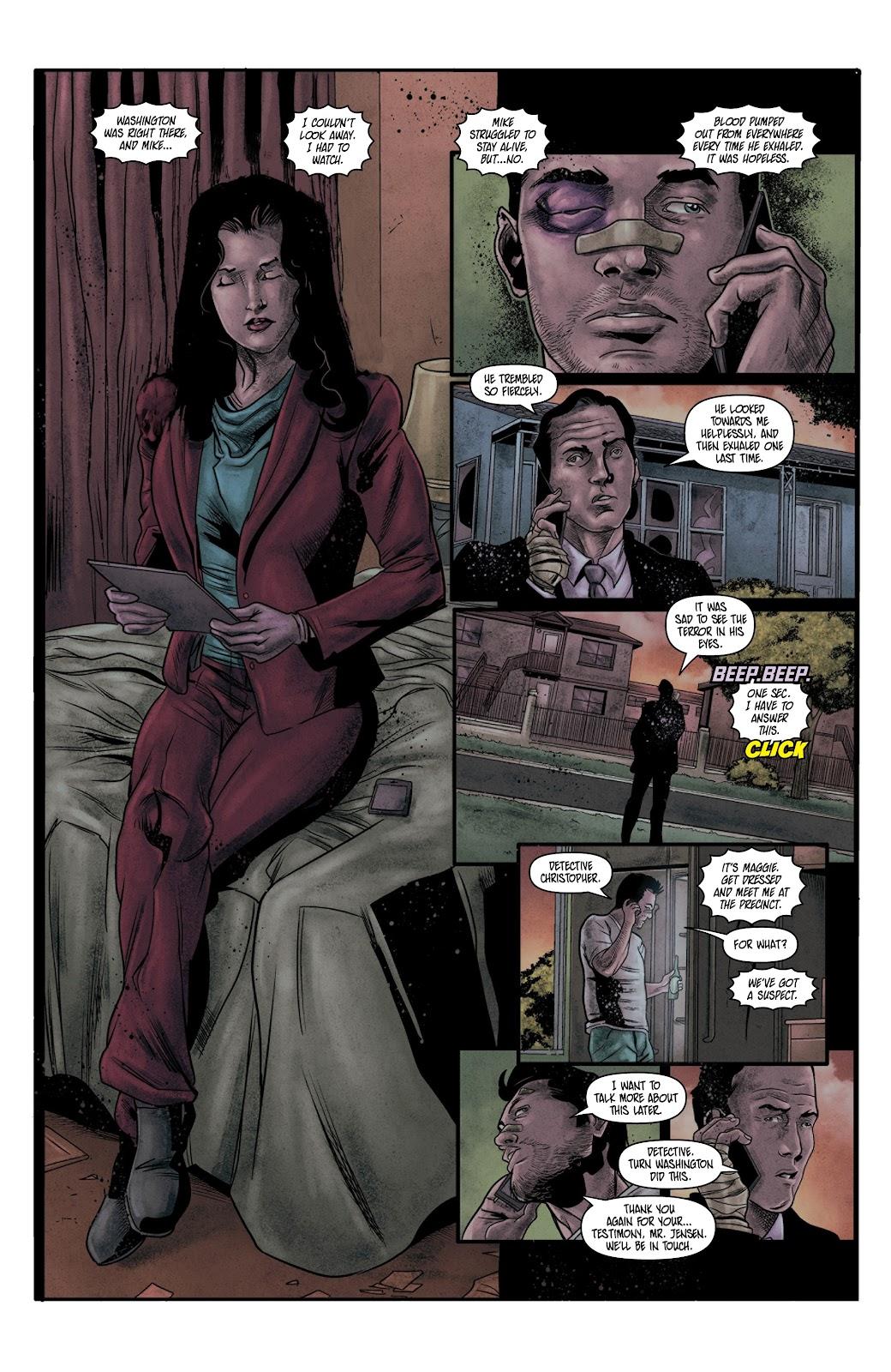 Read online Vindication comic -  Issue #4 - 10