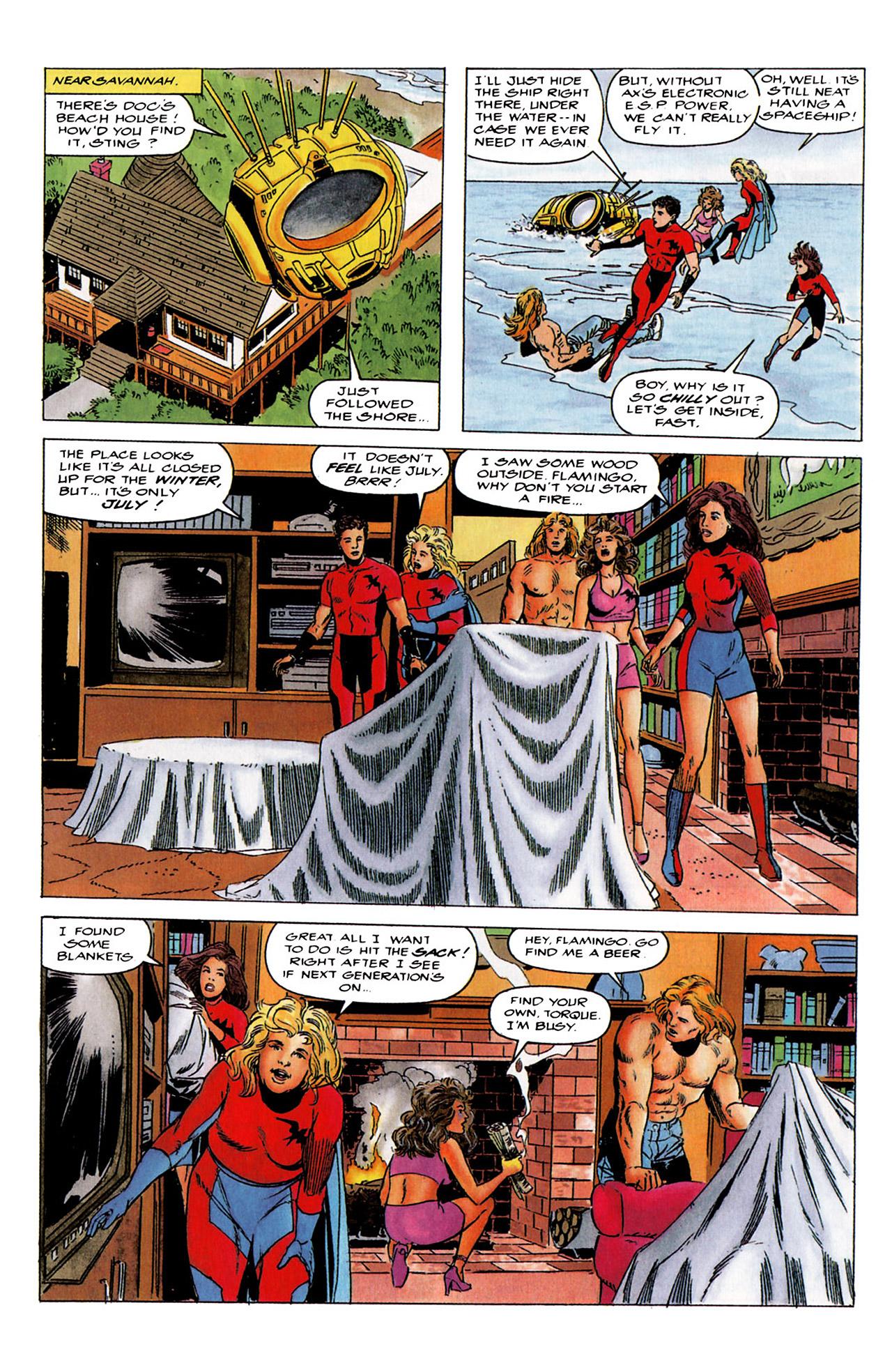 Read online Harbinger (1992) comic -  Issue #4 - 6