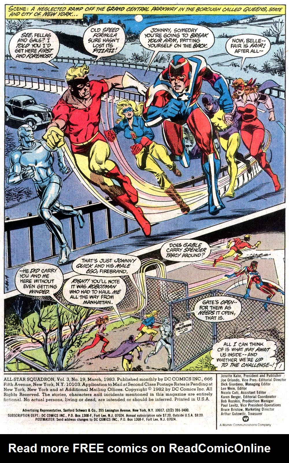 Read online All-Star Squadron comic -  Issue #19 - 2