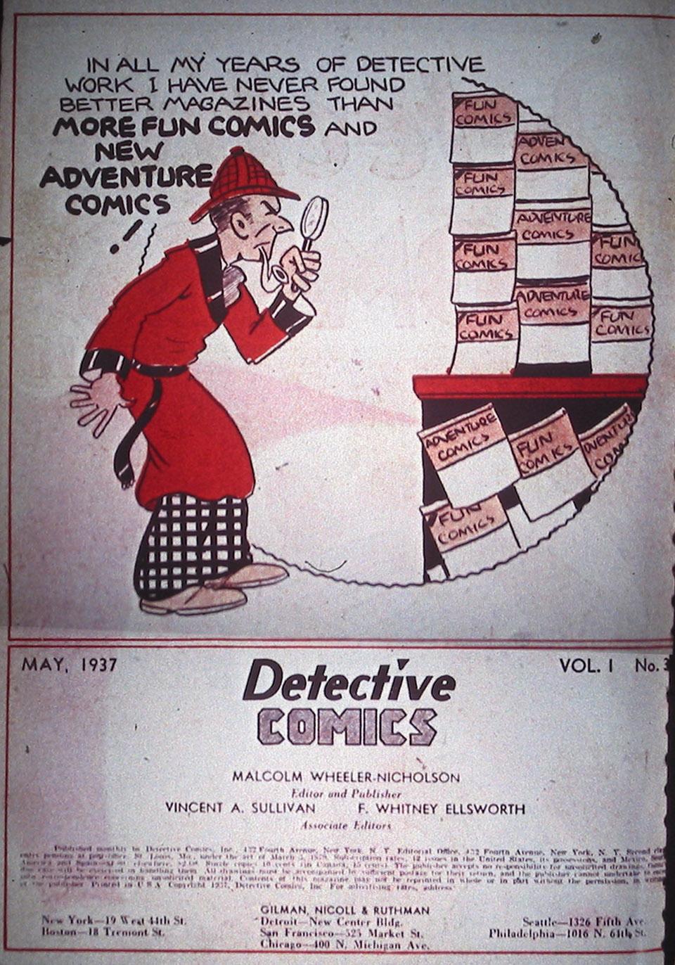 Read online Detective Comics (1937) comic -  Issue #3 - 2