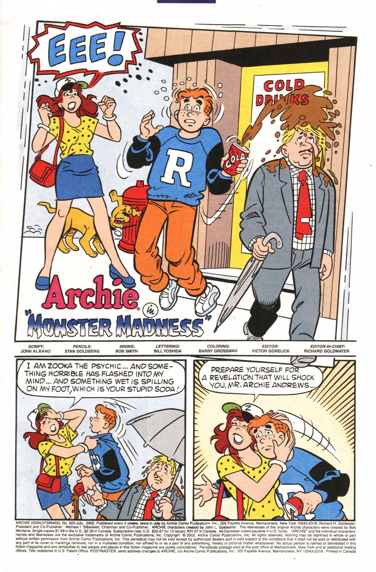 Read online Archie (1960) comic -  Issue #523 - 2