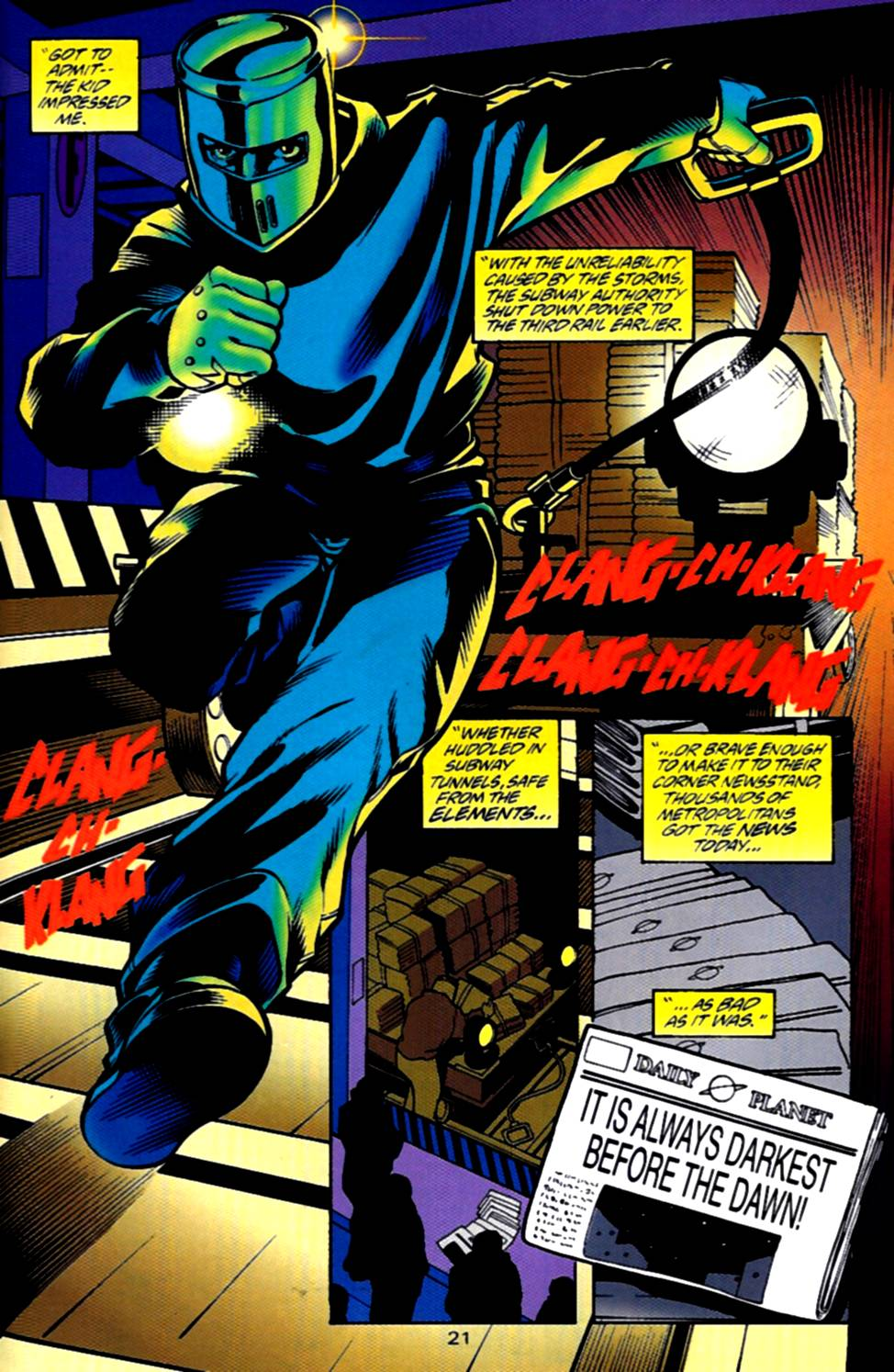 Read online Adventures of Superman (1987) comic -  Issue #540 - 22
