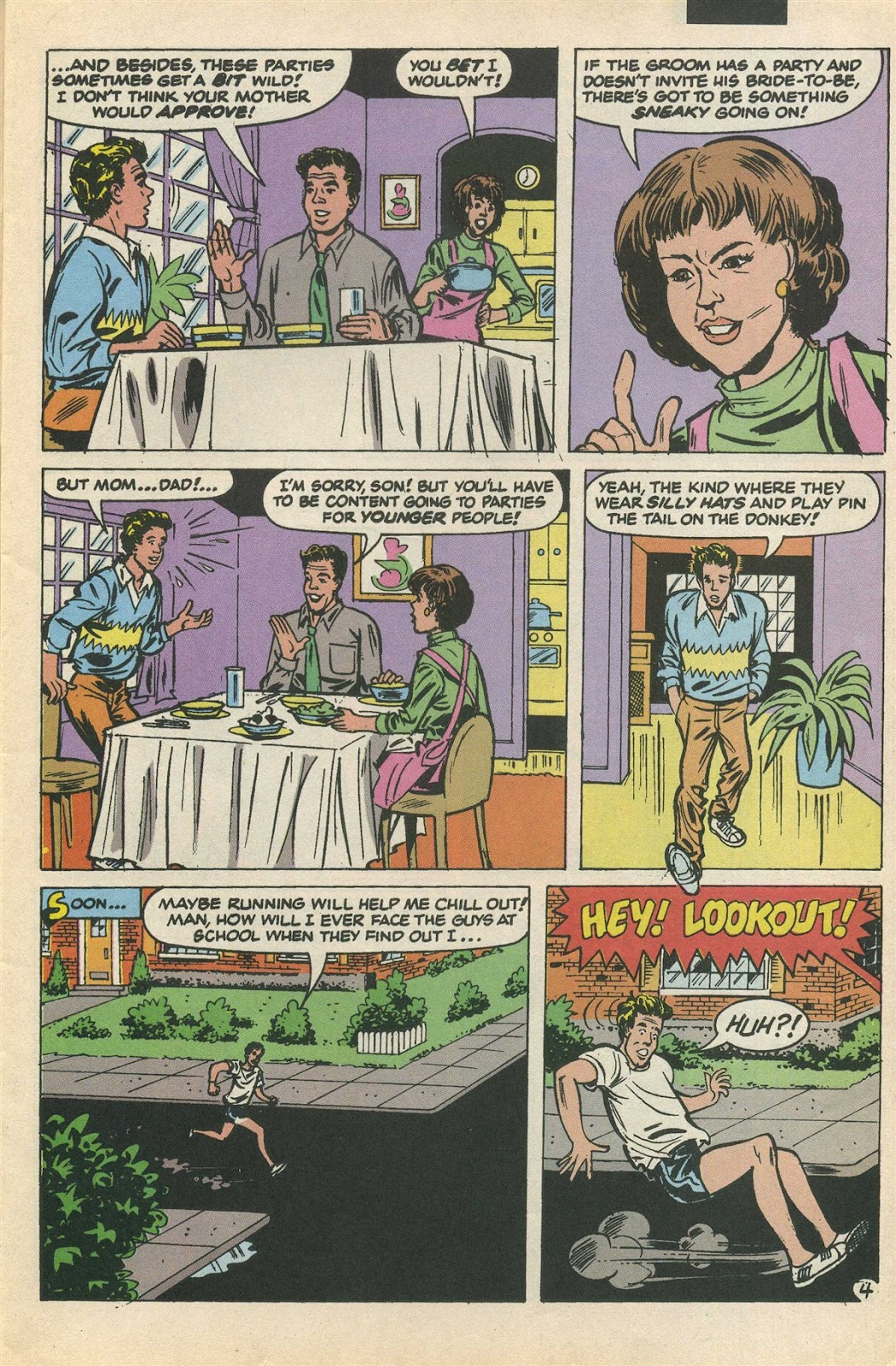 Read online Saved By The Bell comic -  Issue #3 - 7