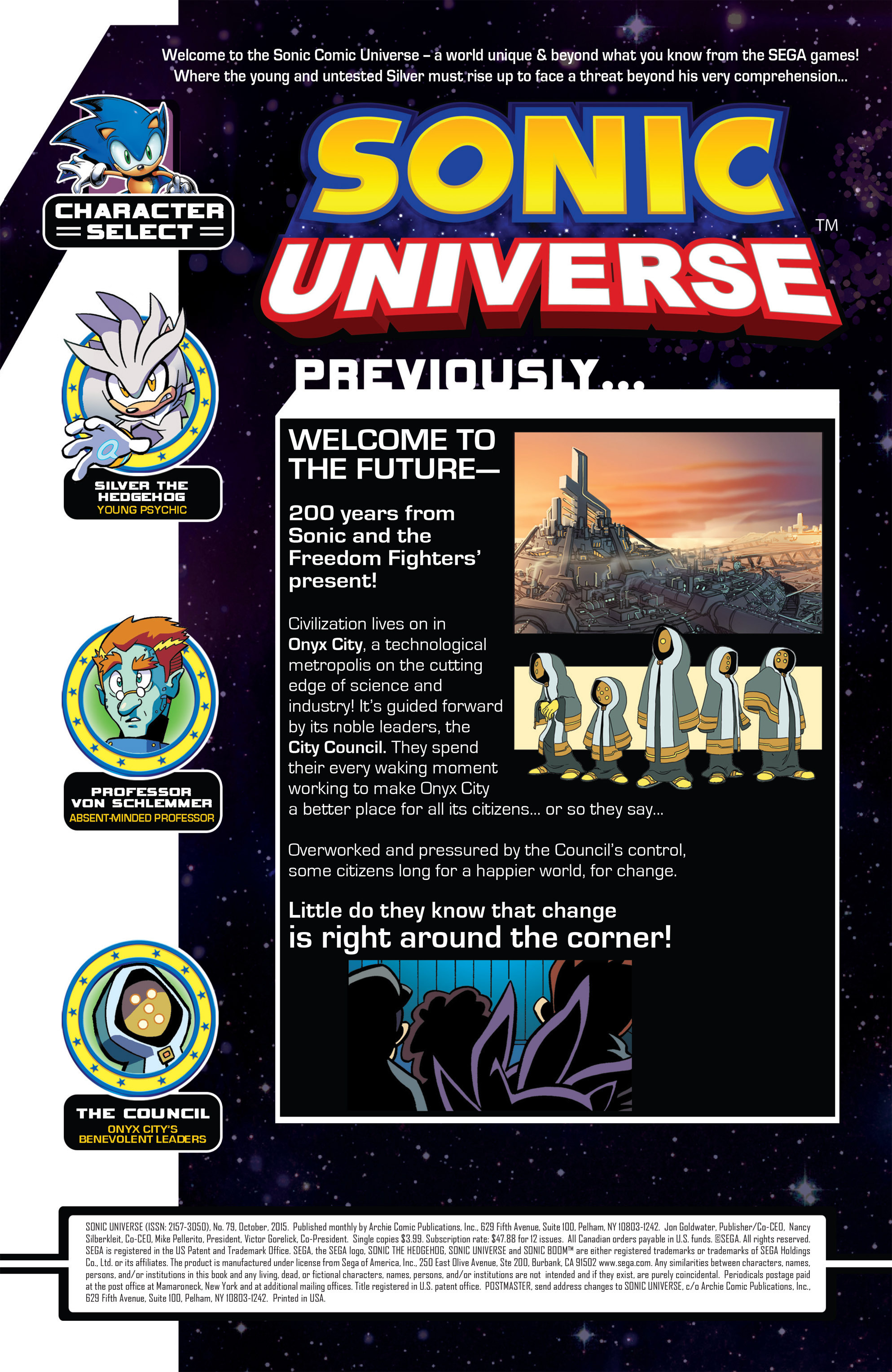 Read online Sonic Universe comic -  Issue #79 - 2