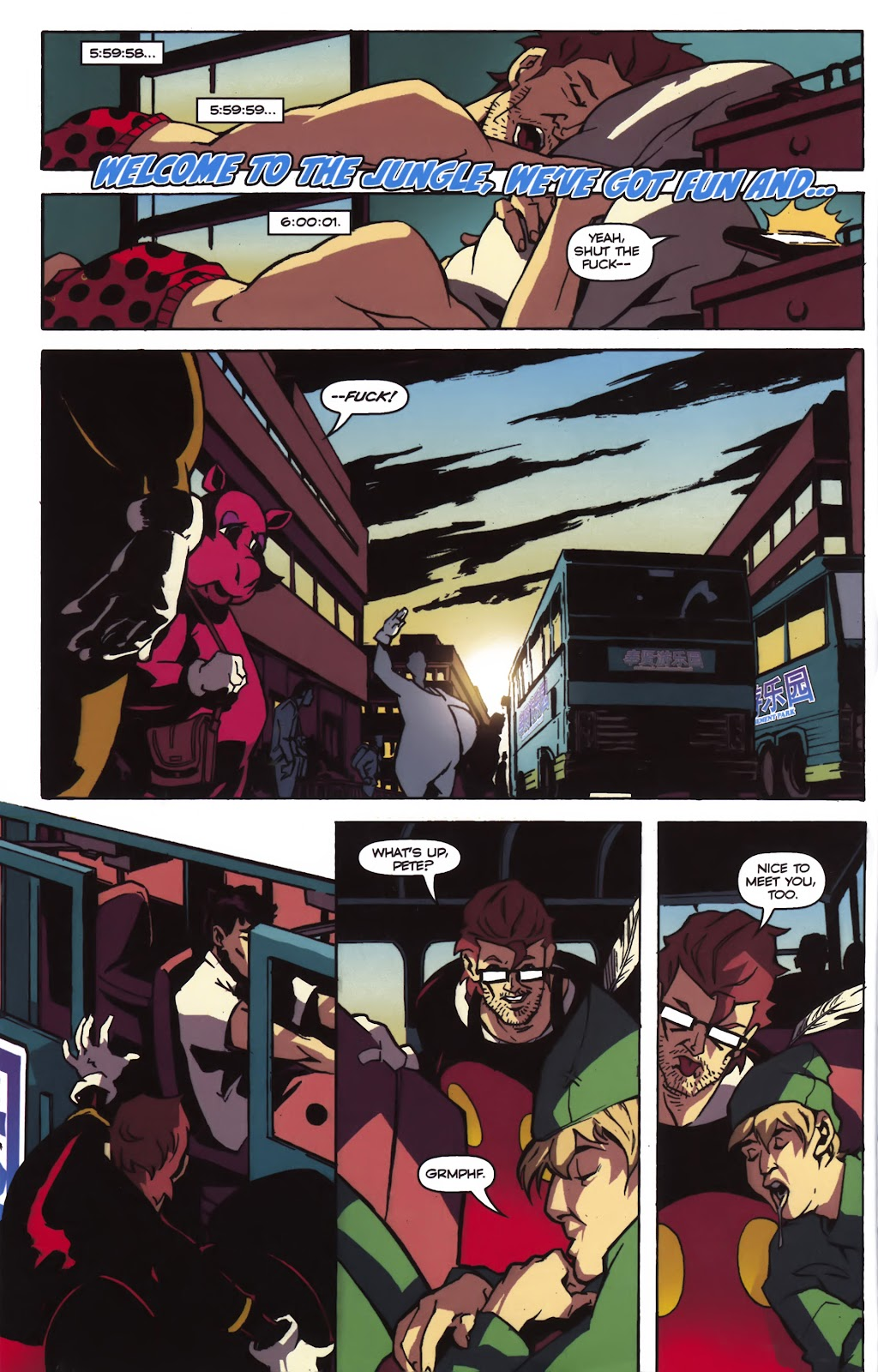 Read online Ricky Rouse Has A Gun comic -  Issue # TPB (Part 1) - 41
