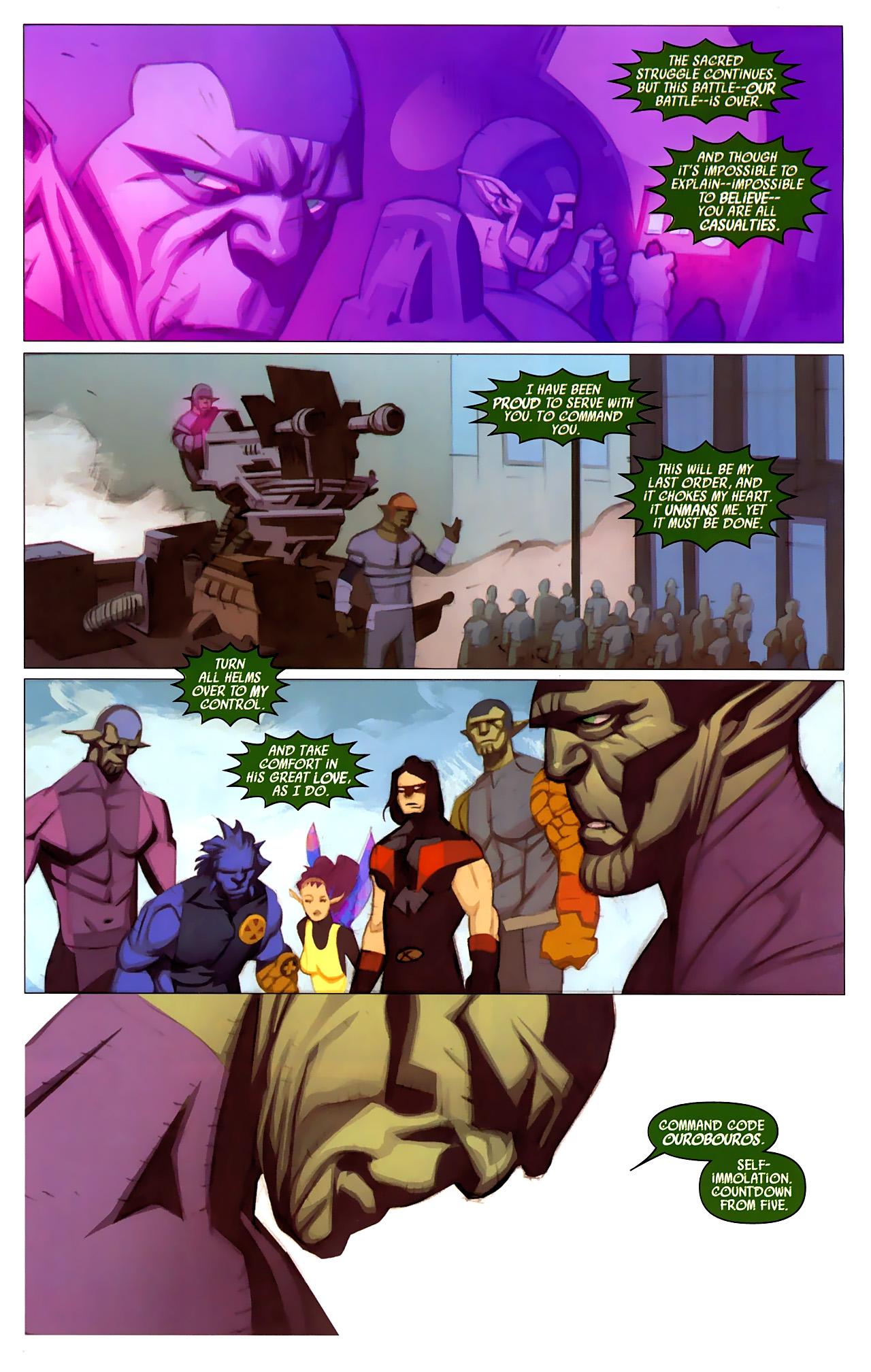 Read online Secret Invasion: X-Men comic -  Issue #4 - 20