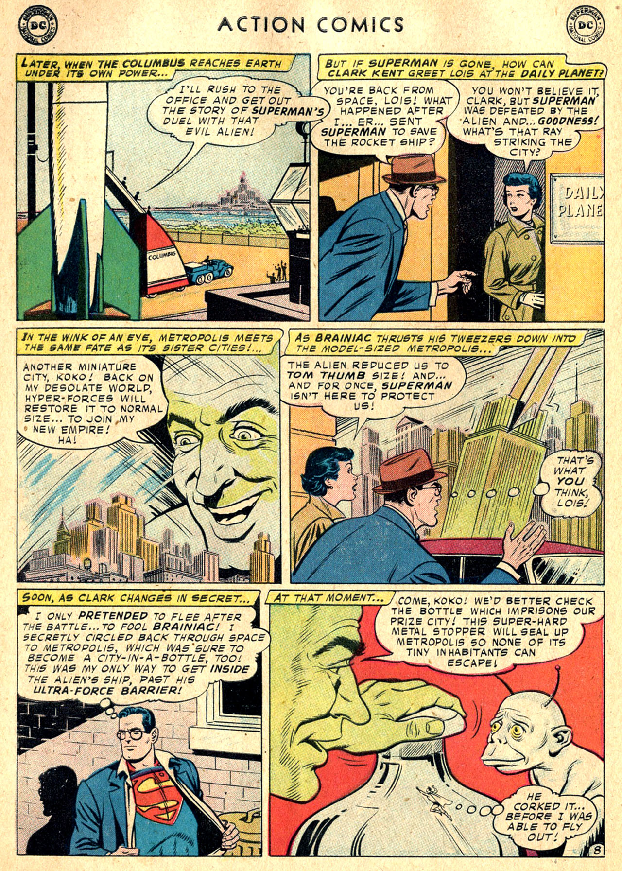 Read online Action Comics (1938) comic -  Issue #242 - 10