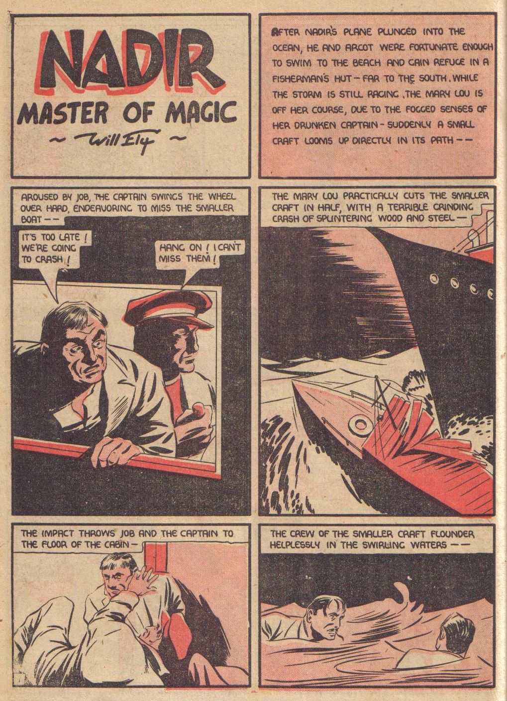 Read online Adventure Comics (1938) comic -  Issue #24 - 24