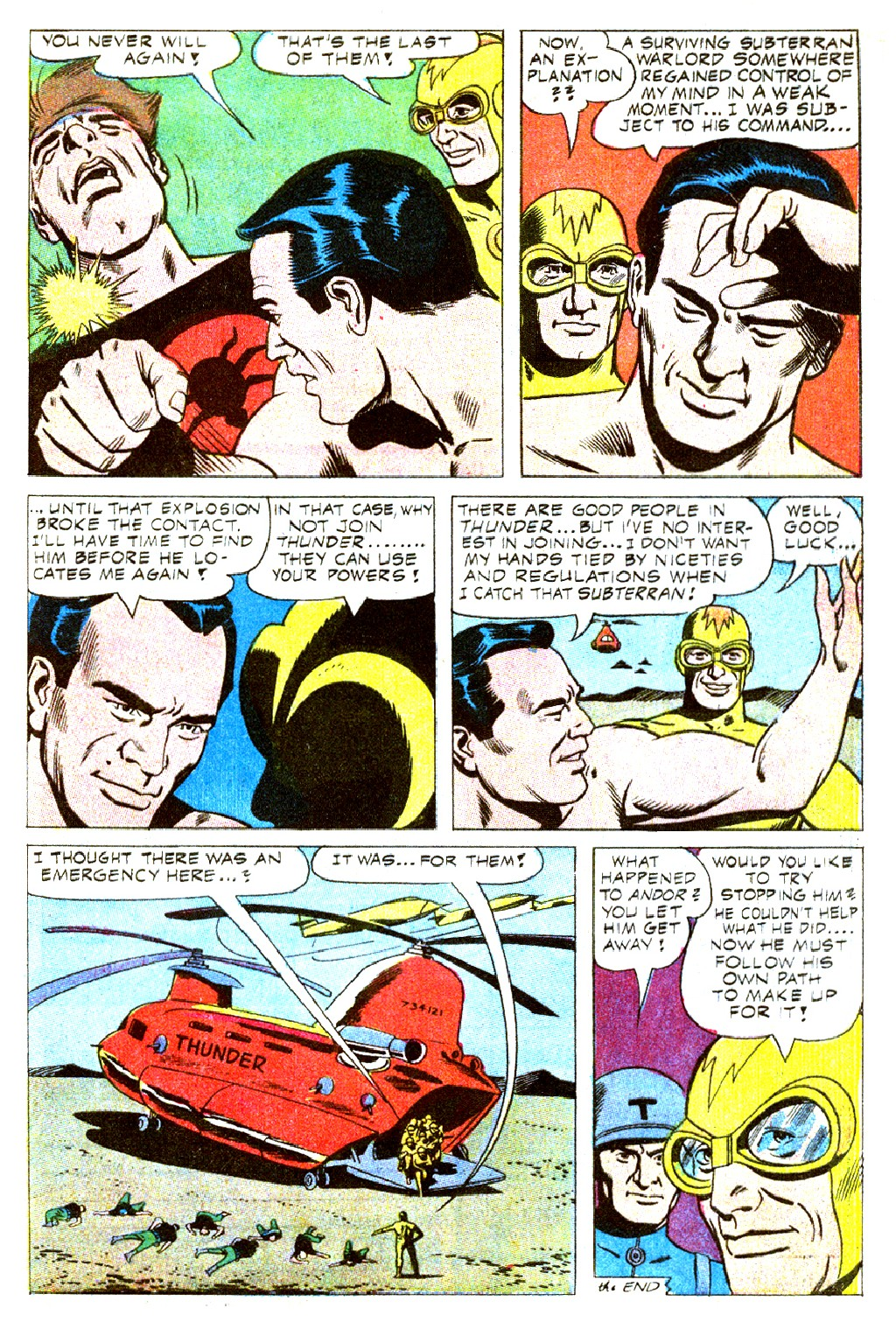 T.H.U.N.D.E.R. Agents (1965) issue 9 - Page 25
