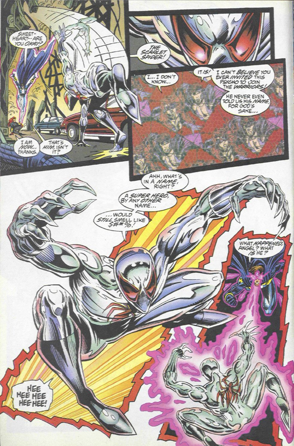 The New Warriors Issue #67 #71 - English 5