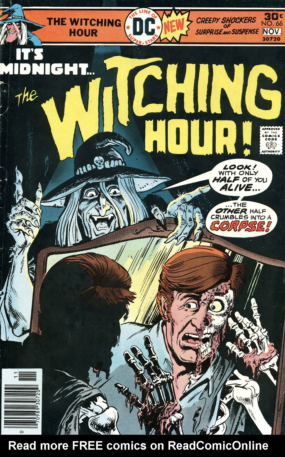 The Witching Hour (1969) issue 66 - Page 1