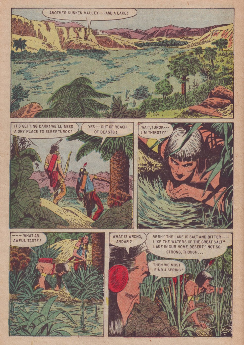 Read online Turok, Son of Stone comic -  Issue #3 - 26