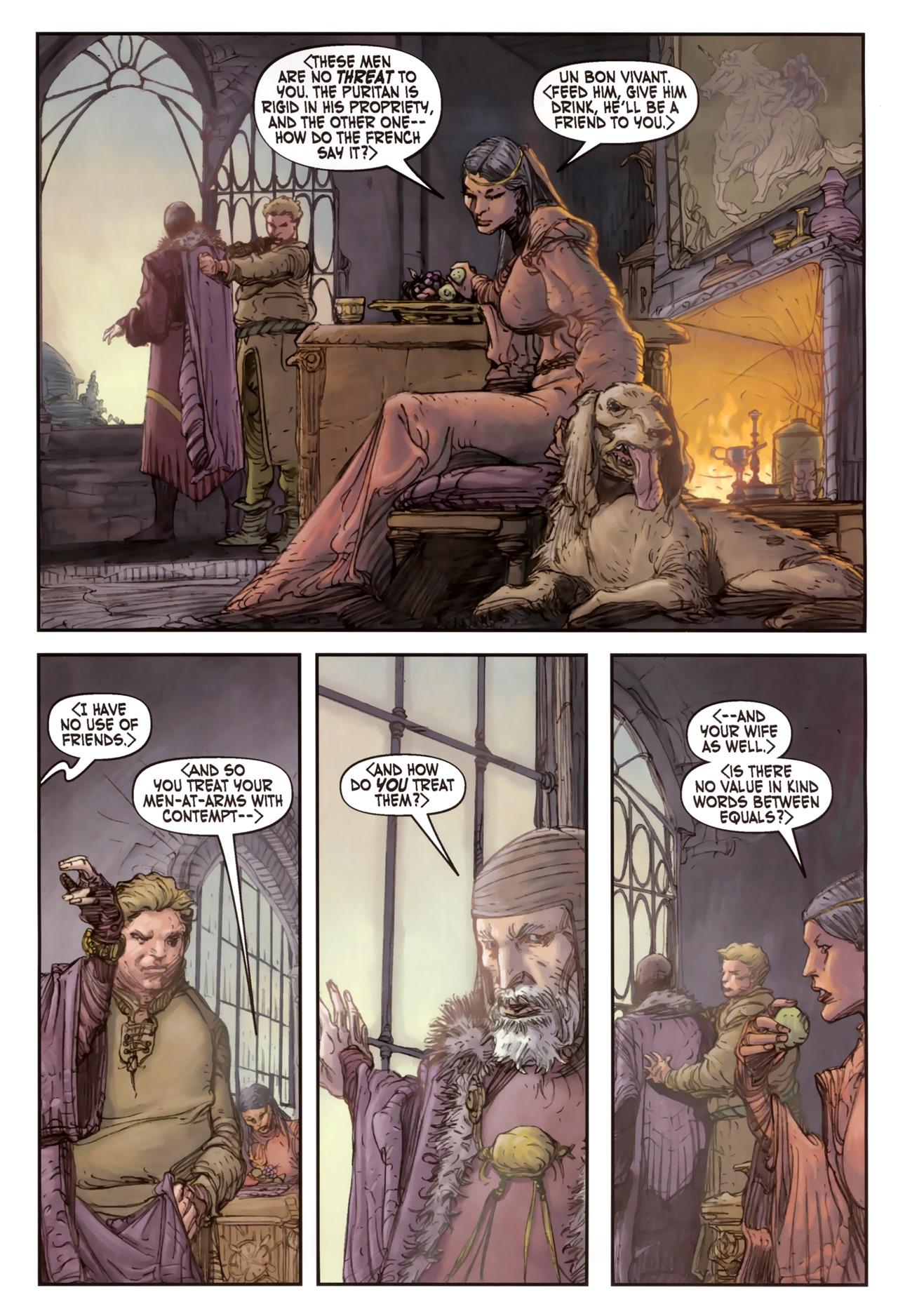 Read online Solomon Kane comic -  Issue #2 - 13