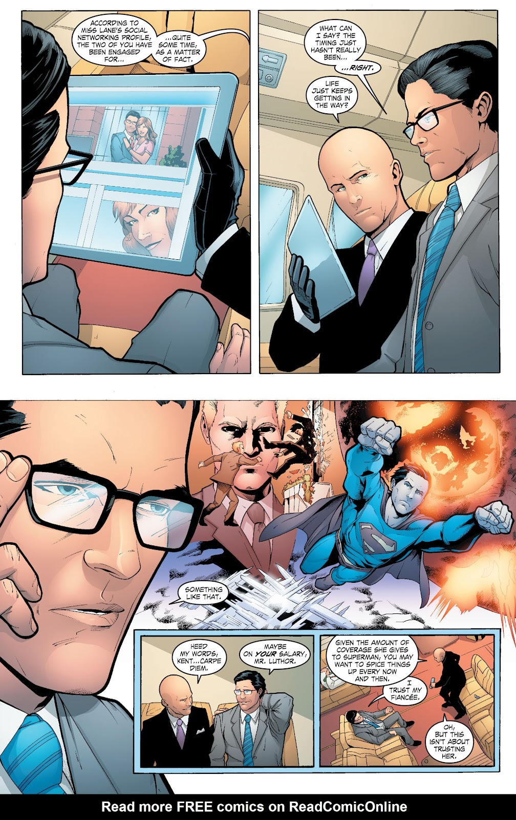Read online Smallville Season 11 [II] comic -  Issue # TPB 6 - 73