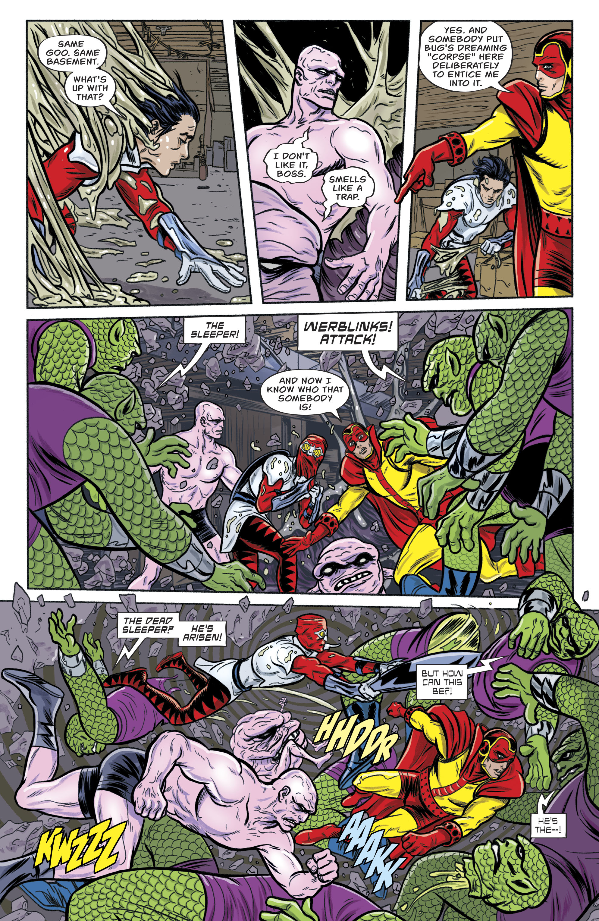 Read online Bug! The Adventures of Forager comic -  Issue #1 - 23