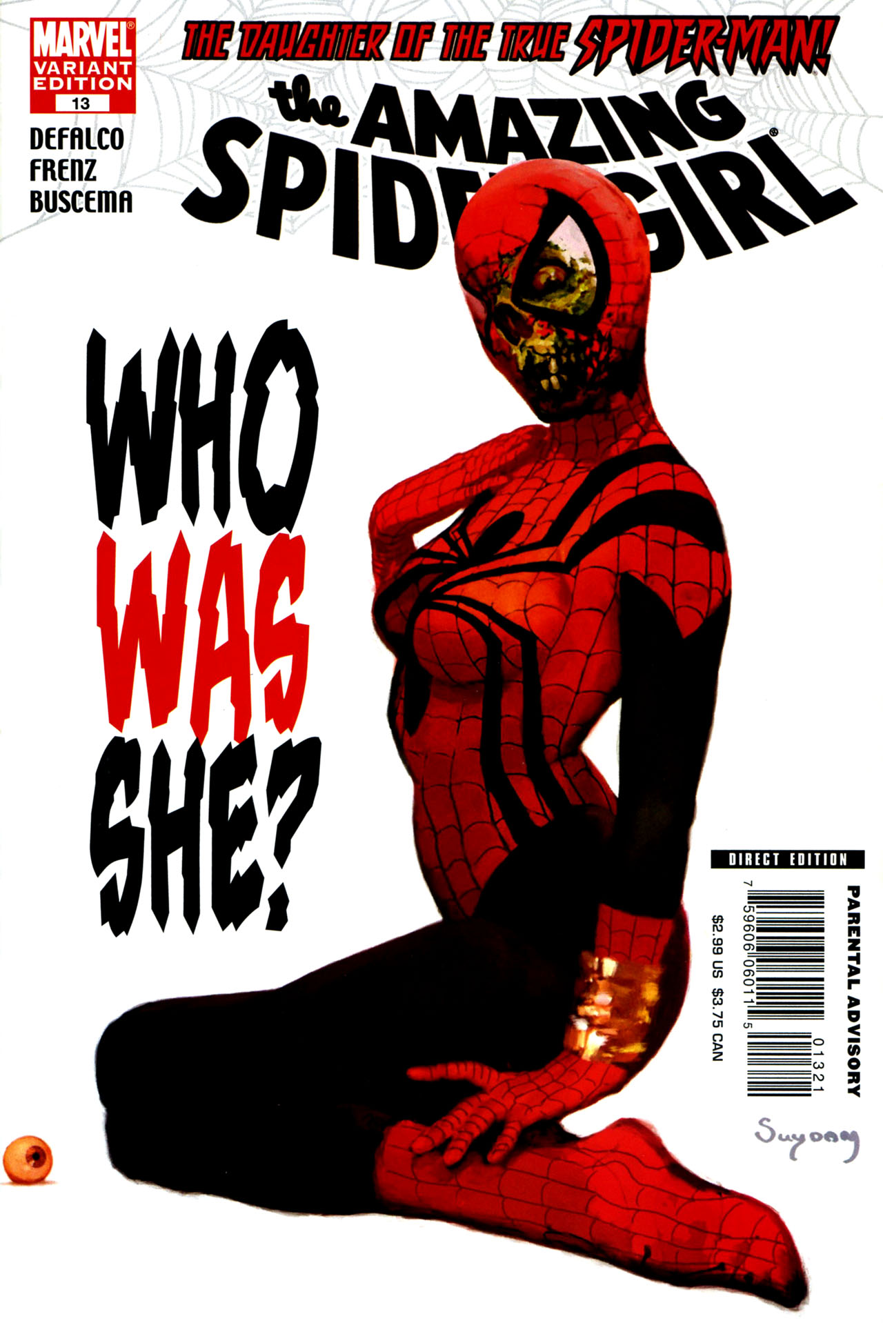 Read online Amazing Spider-Girl comic -  Issue #13 - 2