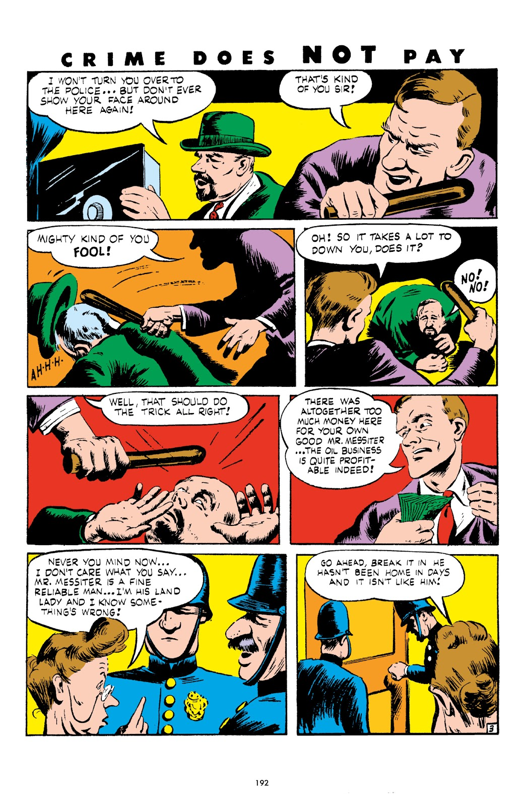 Read online Crime Does Not Pay Archives comic -  Issue # TPB 4 (Part 2) - 92