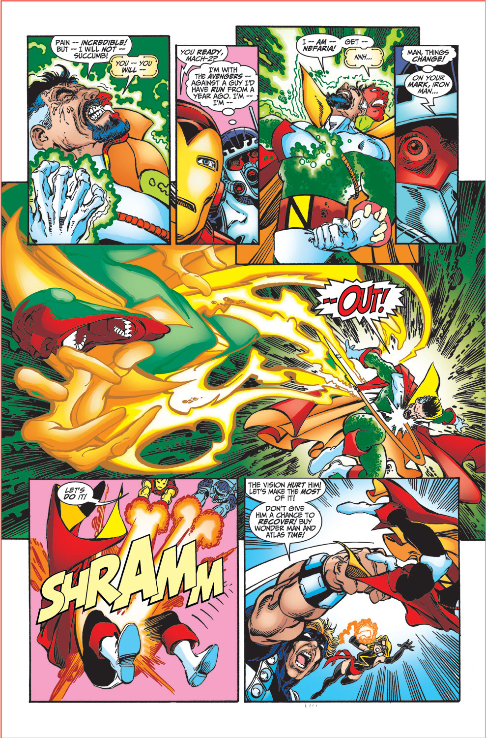 Read online Avengers (1998) comic -  Issue #34 - 18