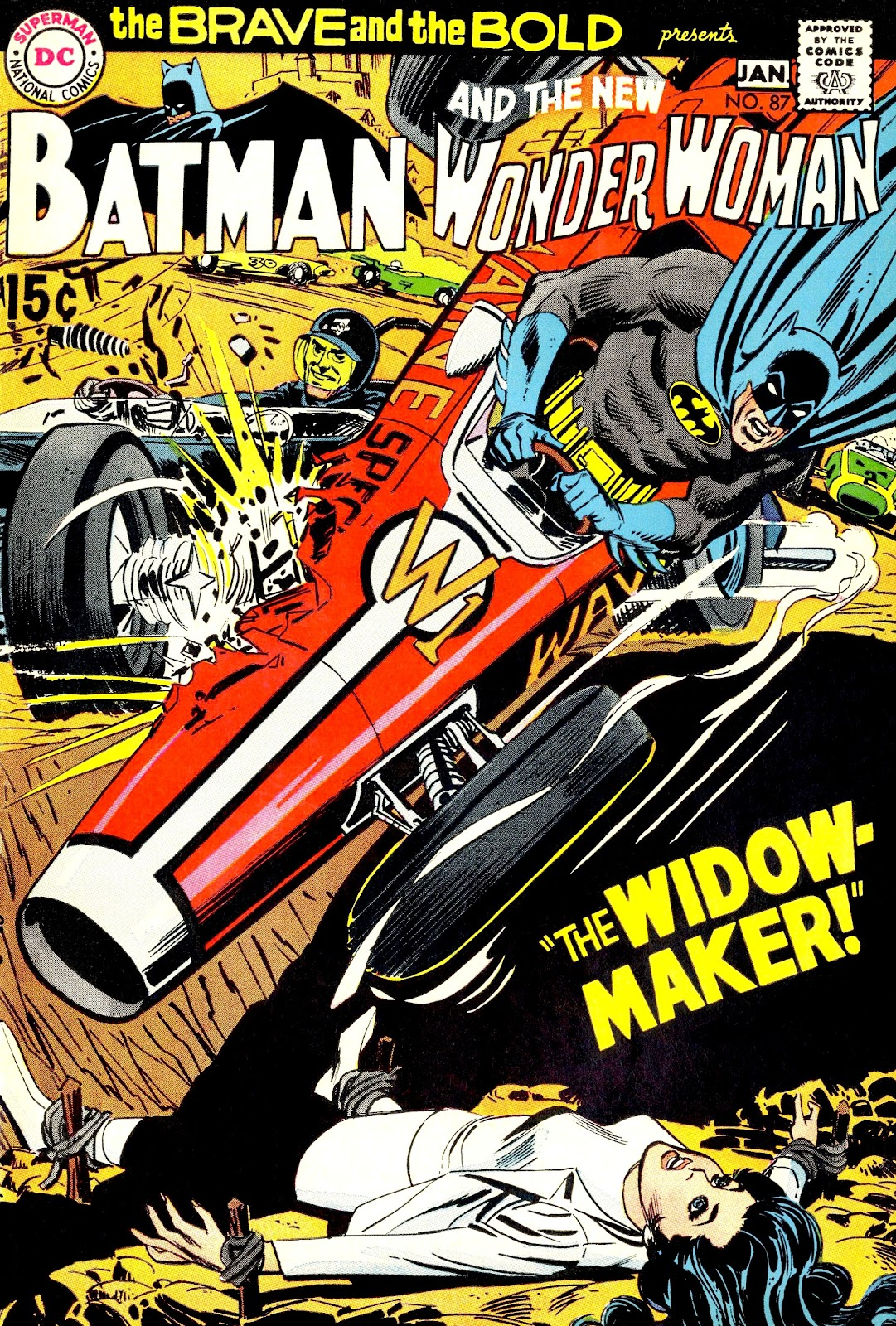 The Brave and the Bold (1955) issue 87 - Page 1
