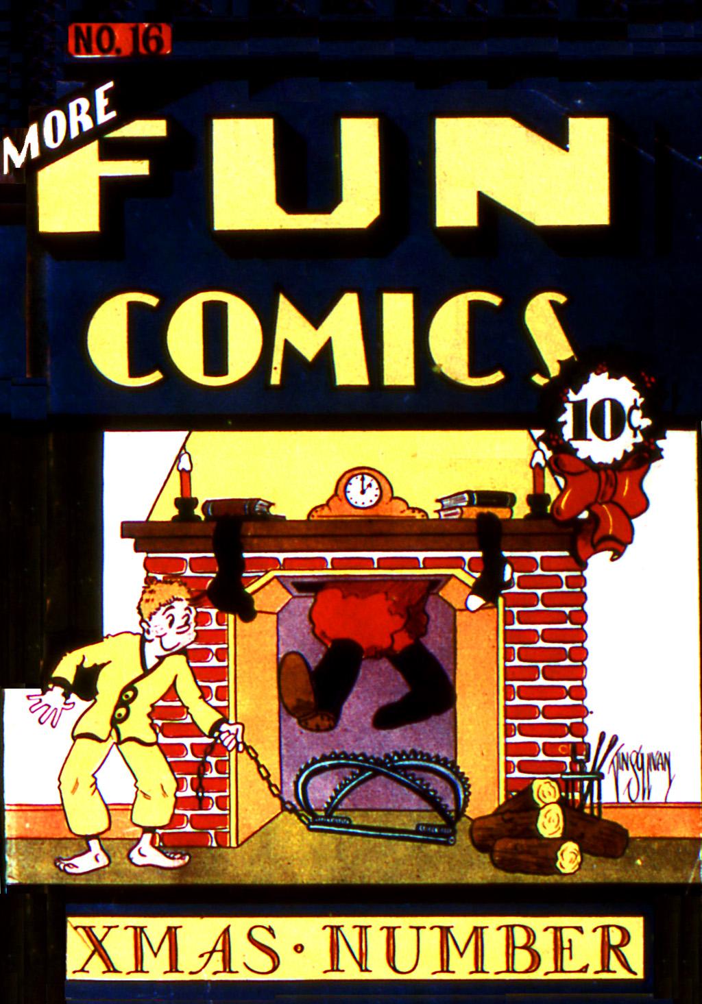 More Fun Comics 16 Page 1