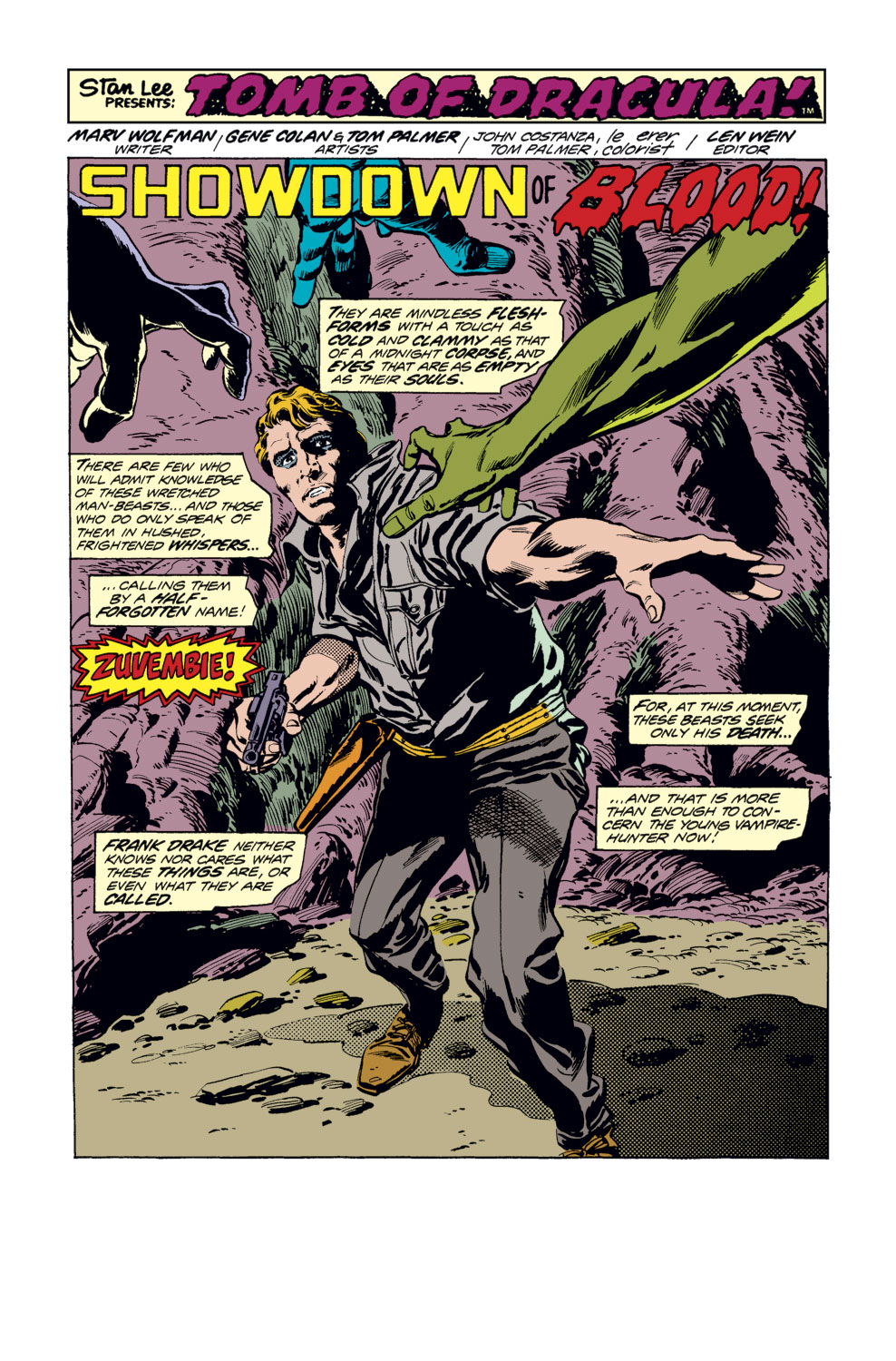 Tomb of Dracula (1972) issue 34 - Page 2