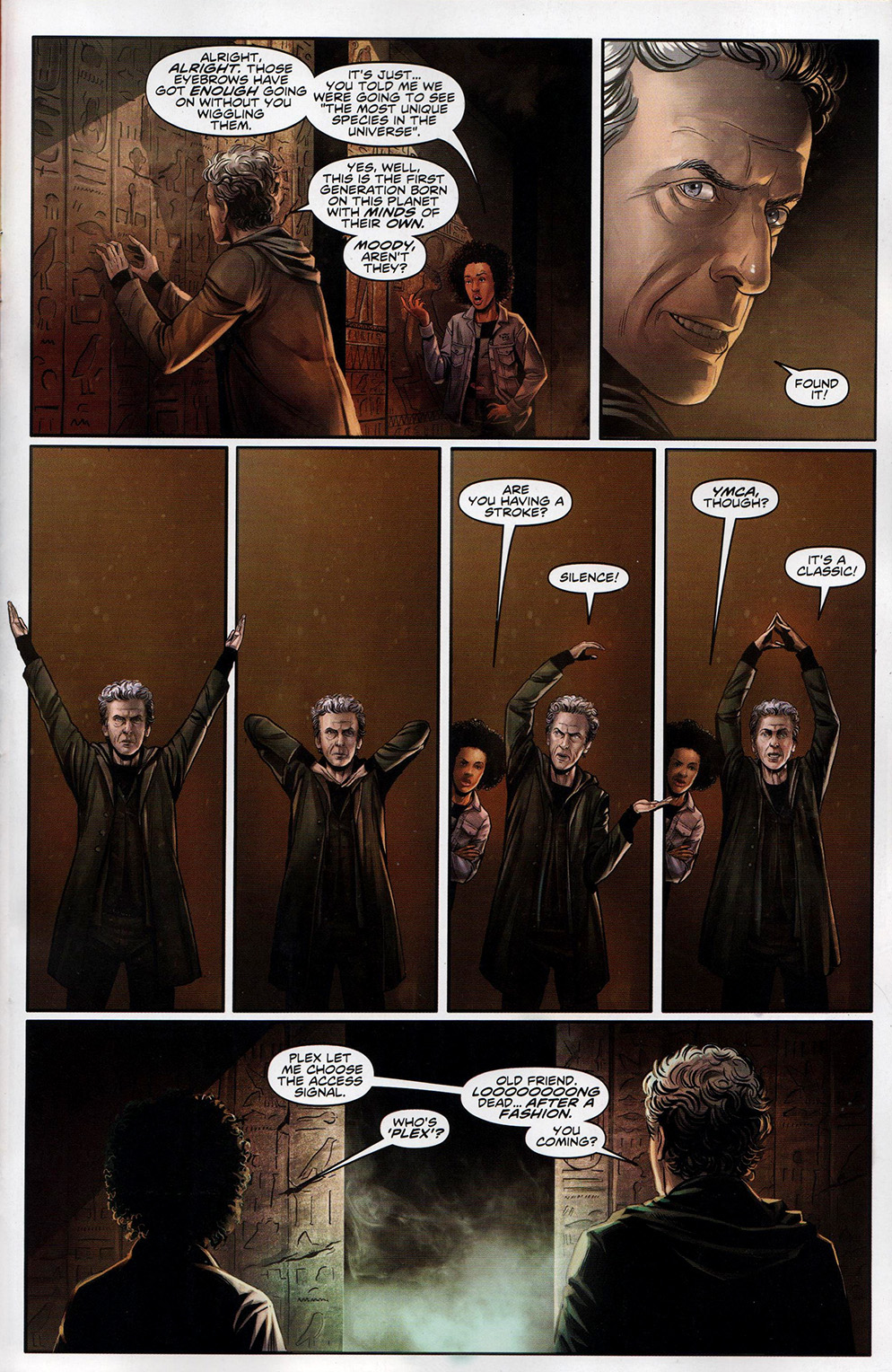 Read online Free Comic Book Day 2017 comic -  Issue # Doctor Who - 6