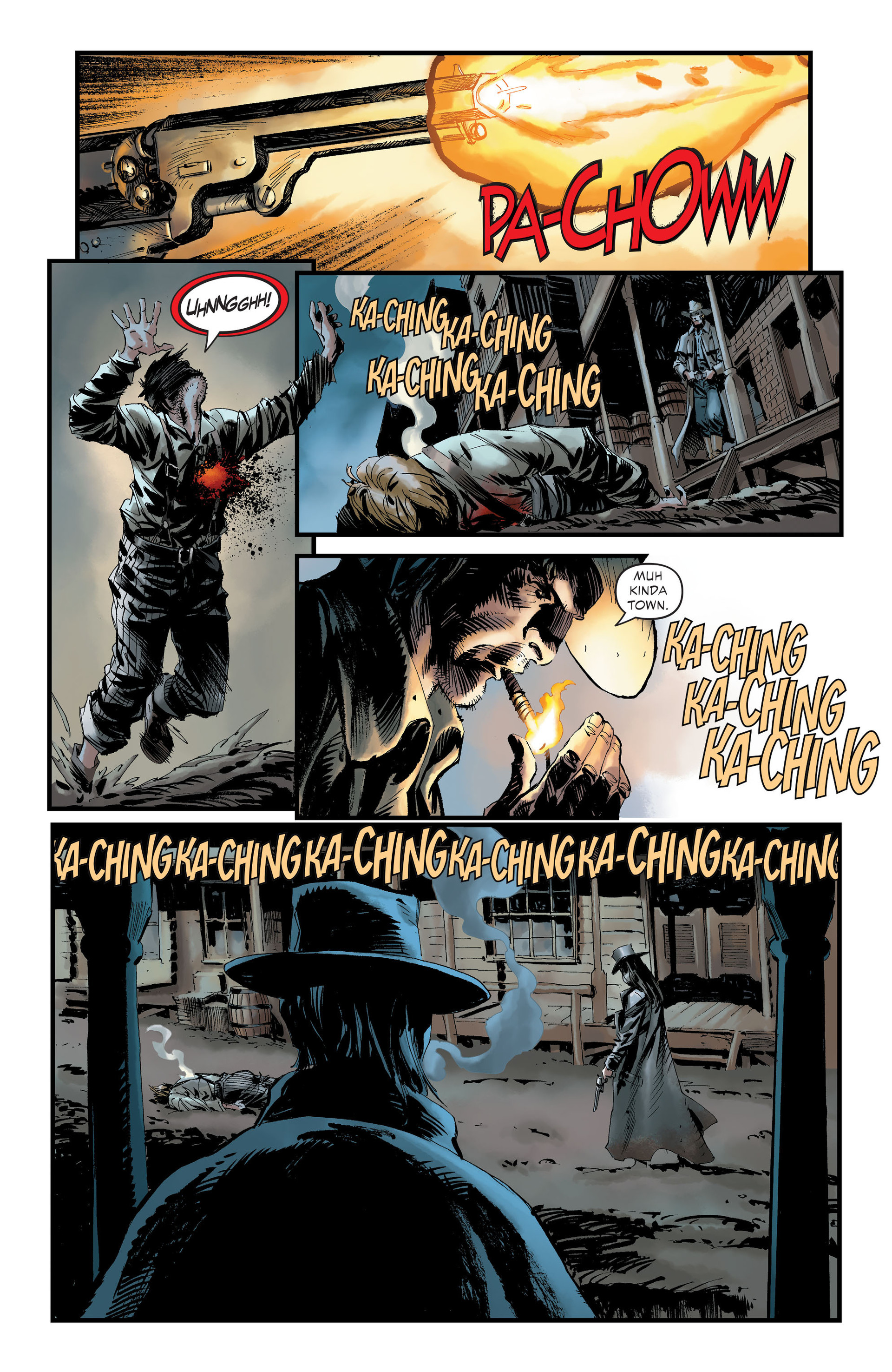 Read online All-Star Western (2011) comic -  Issue #30 - 6