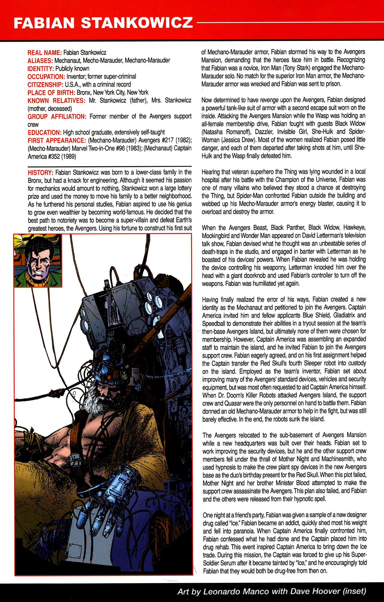 Read online All-New Official Handbook of the Marvel Universe A to Z comic -  Issue #10 - 52