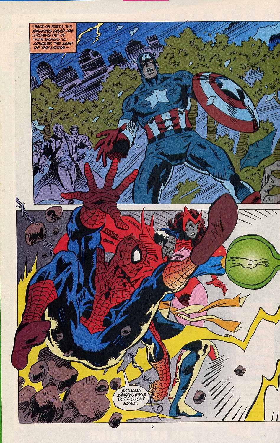 Read online Secret Defenders comic -  Issue #8 - 3