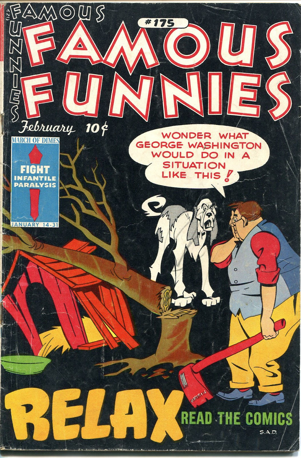 Read online Famous Funnies comic -  Issue #175 - 1