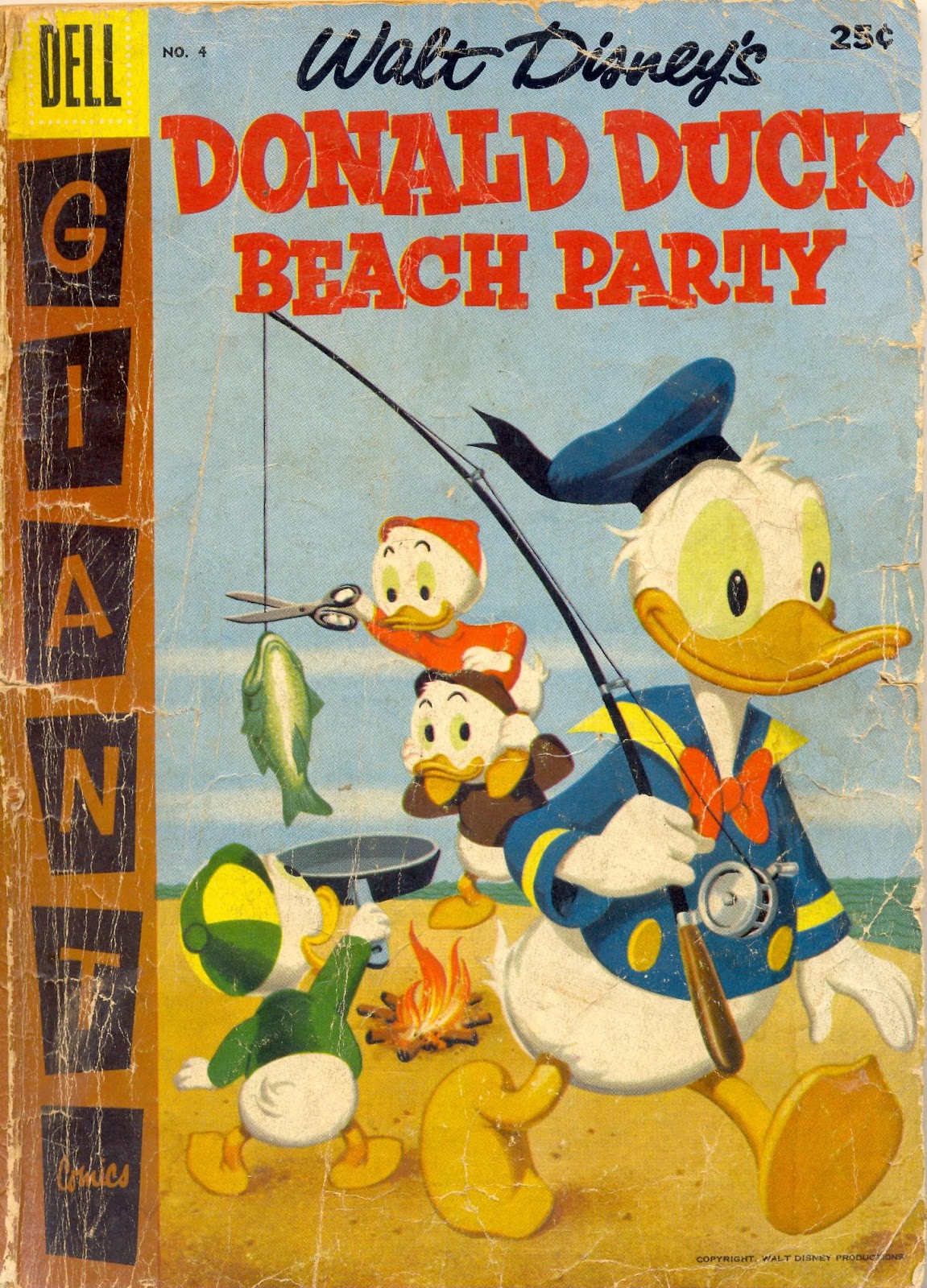 Donald Duck Beach Party issue 4 - Page 1
